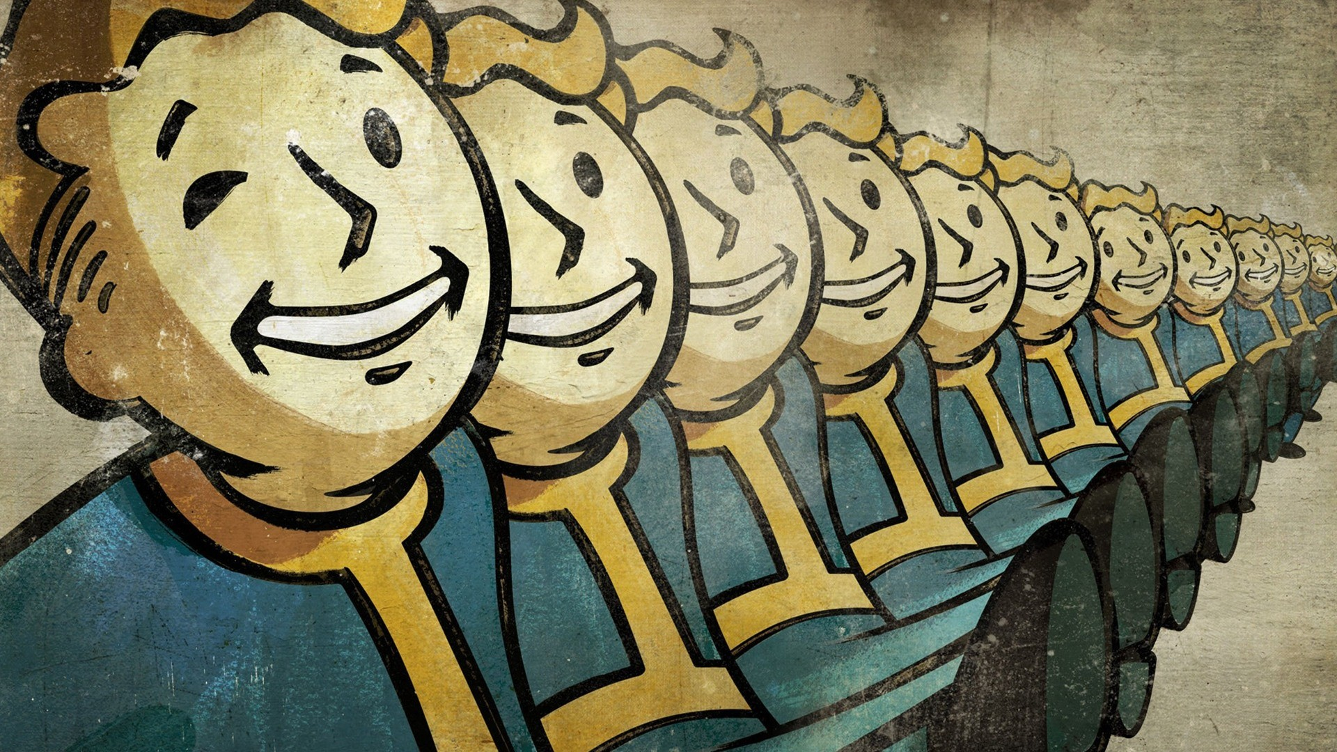 Wallpaper fallout online, fallout, 2015, interplay entertainment  corp