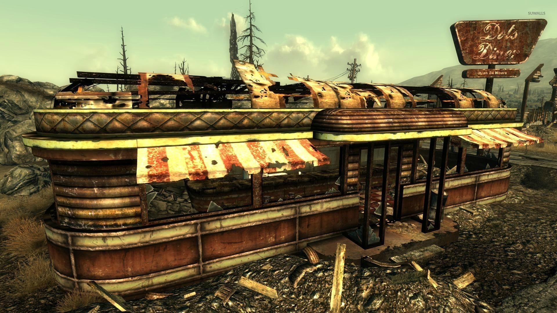 Dot's Diner – Fallout wallpaper jpg