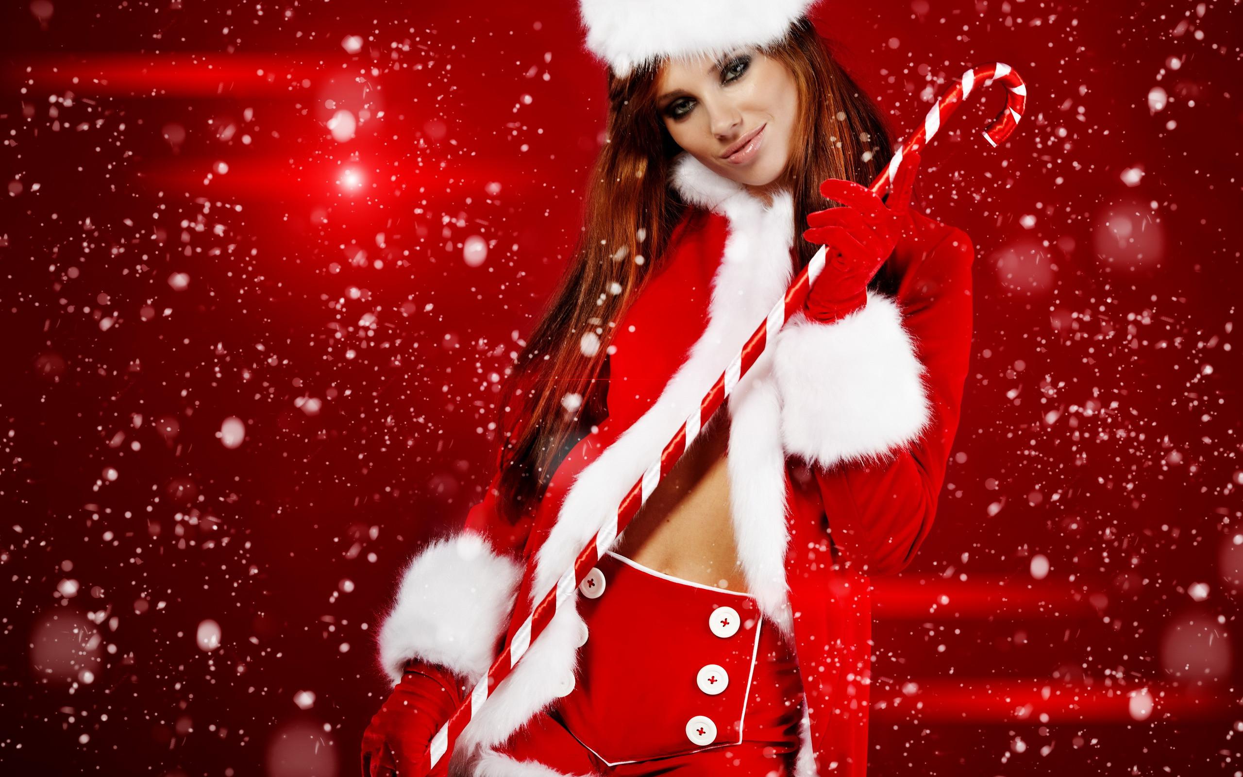 Christmas Girl Wallpaper Free Download