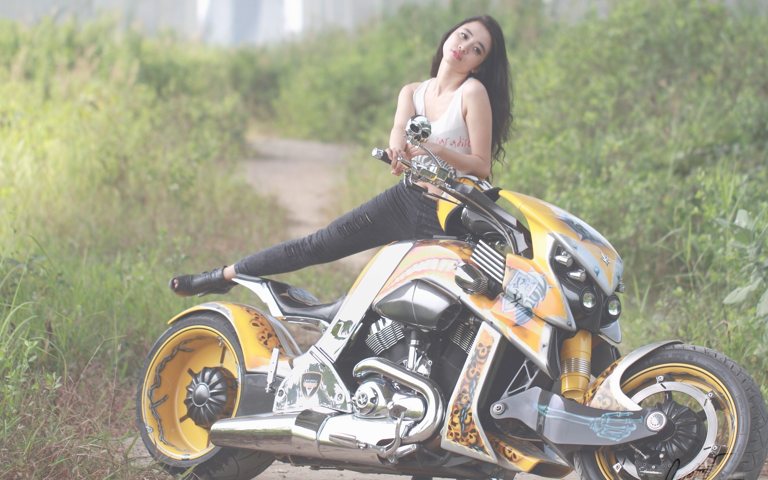 girls and motorcycles wallpaper – Full HD Backgrounds – girls and  motorcycles category