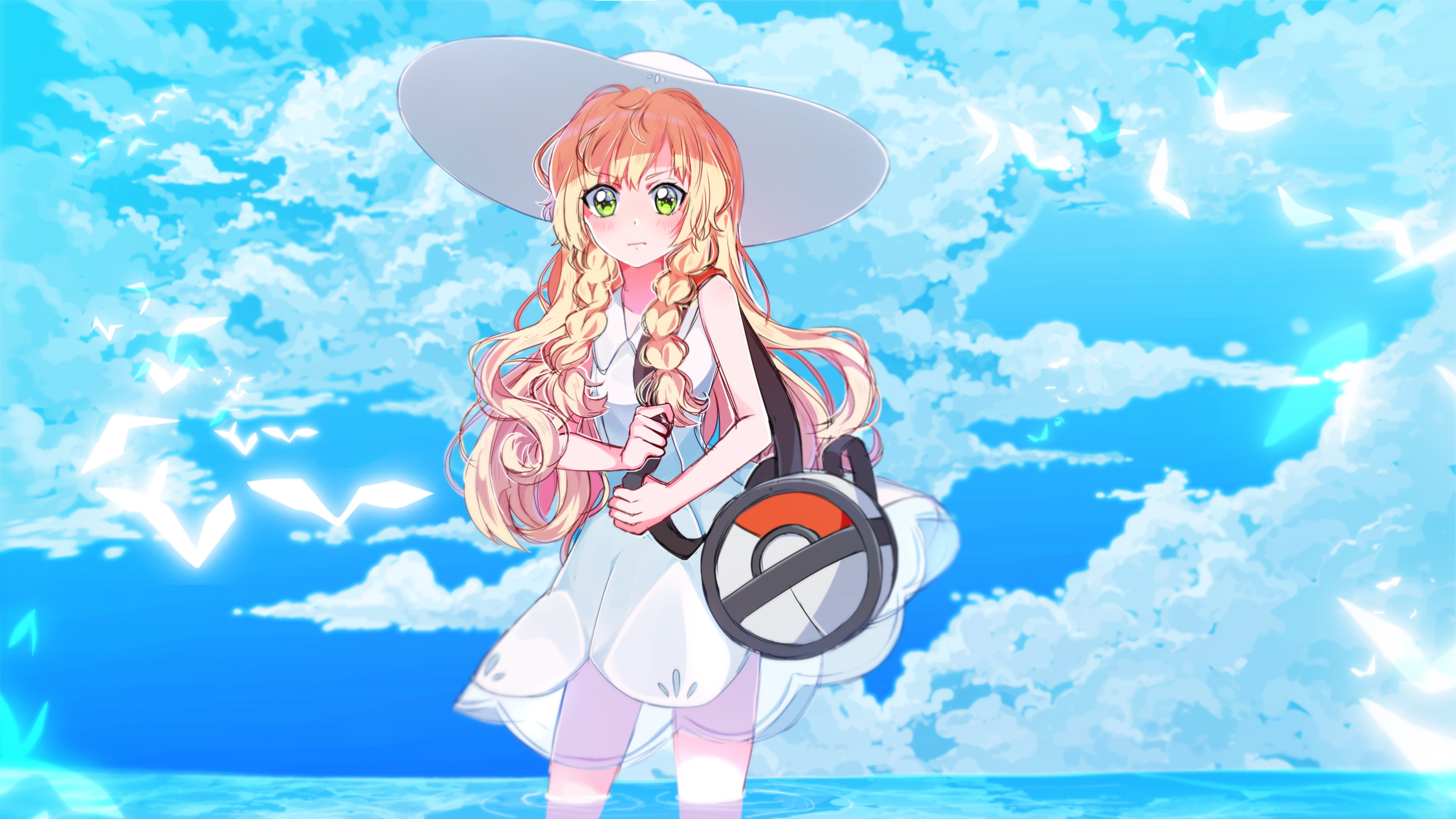 Tags: Anime, Mashunya-chan, Pokémon Sun & Moon, Pokémon, Lillie
