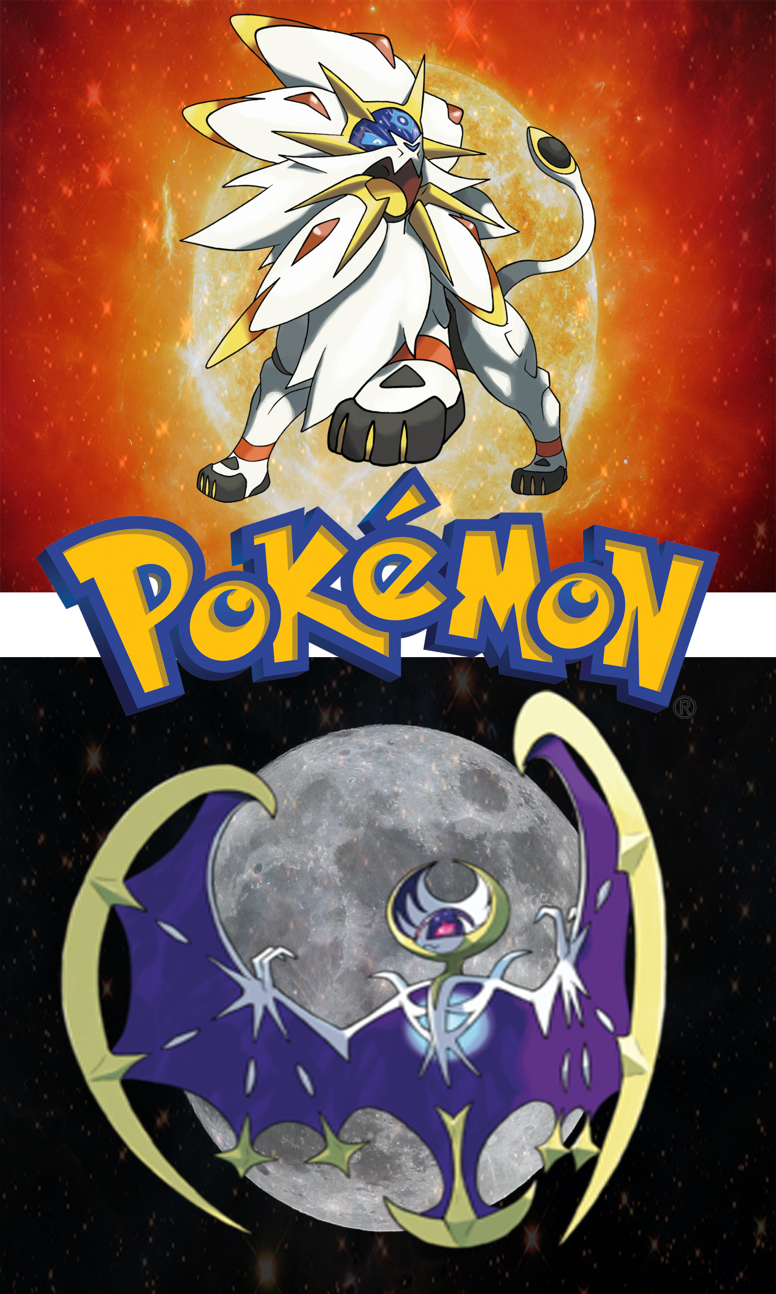 … Pokemon Sun and Moon wallpaper by zapdosongo