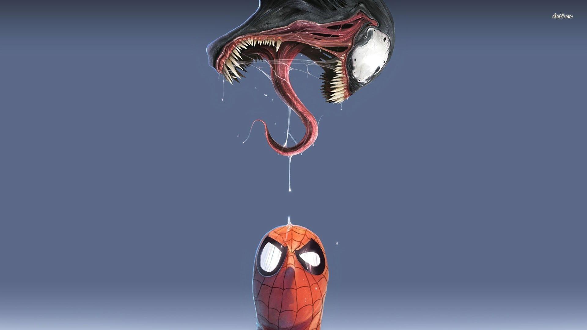 Venom vs Spider-Man wallpaper – Comic wallpapers – #10764