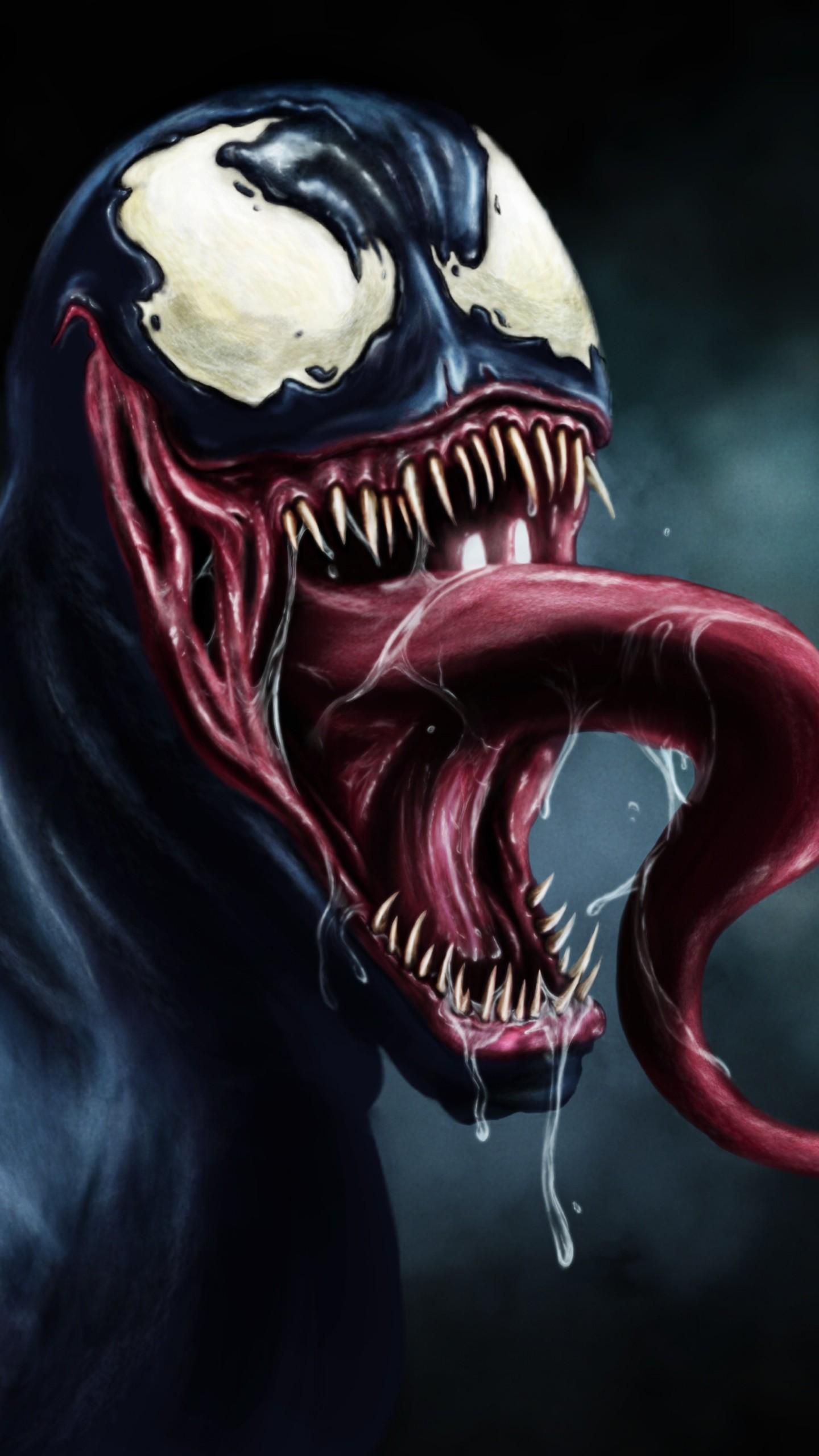 Wallpaper venom, eddie brock, marvel