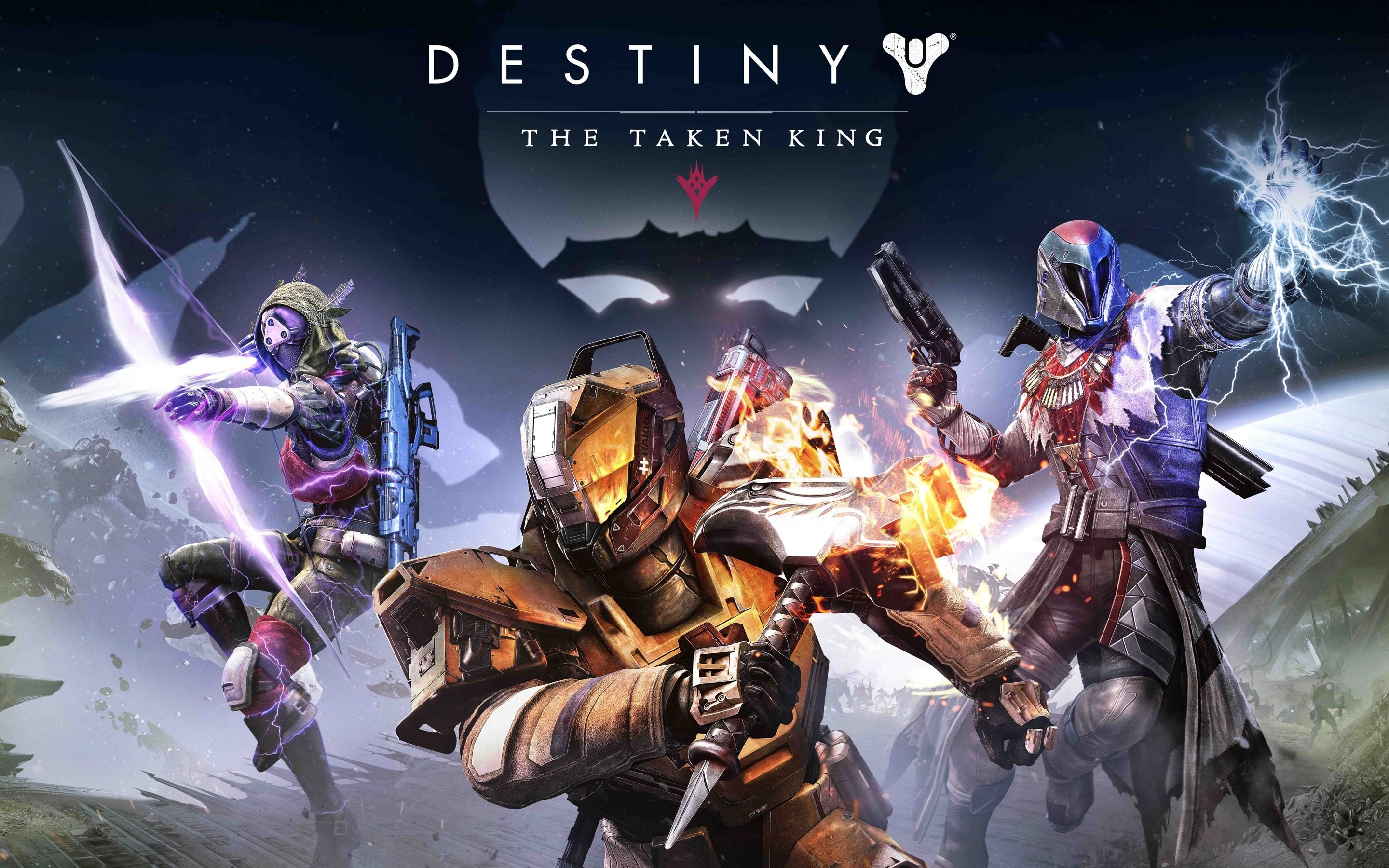 1st 4K wallpaper is with Destiny: The Taken King · 3 hot wallpapers from  super games are listed below in 4K, HD and wide sizes for apply in your  tablets and …
