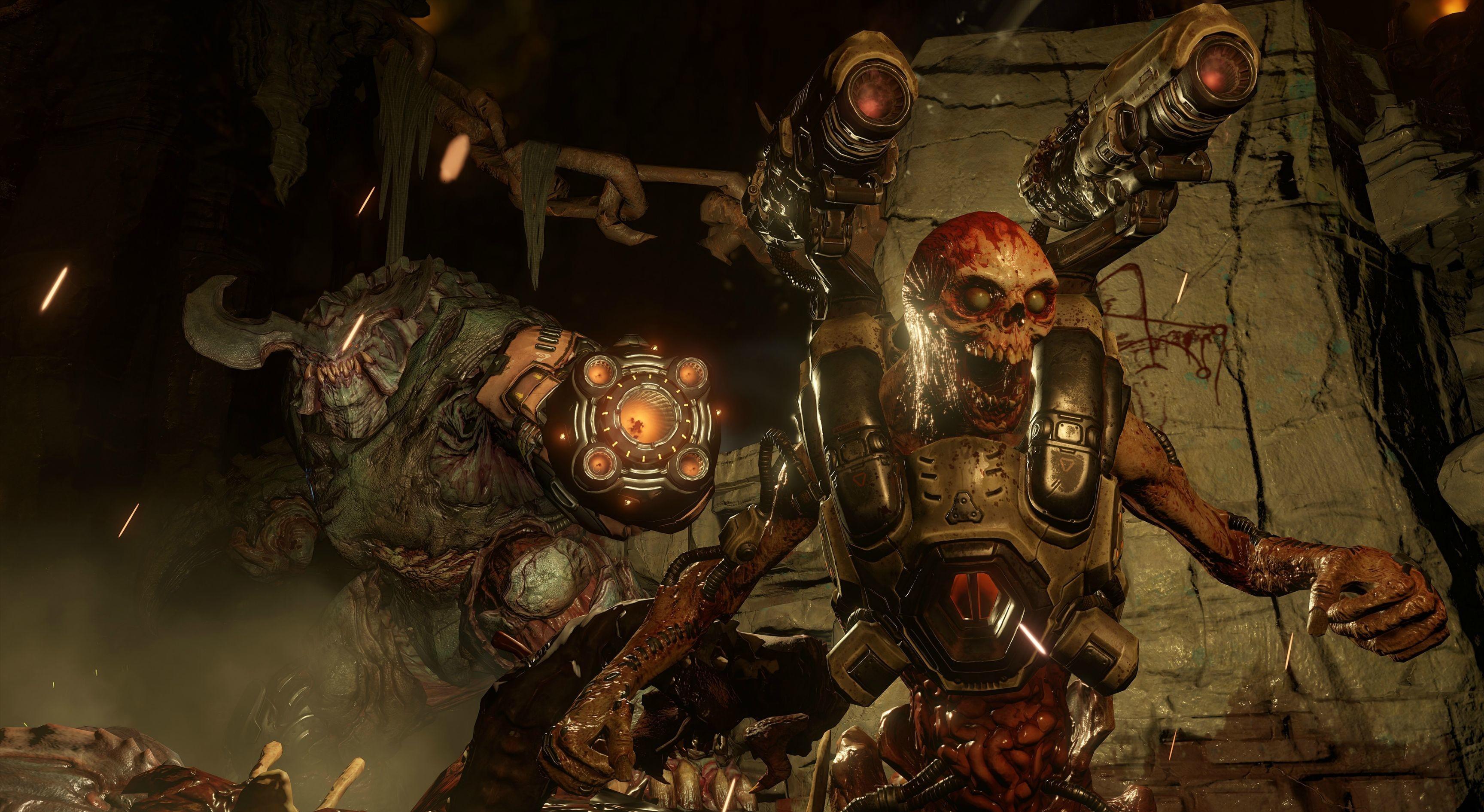 Doom 2016 Poster Doom 2016 Video Game Wallpaper