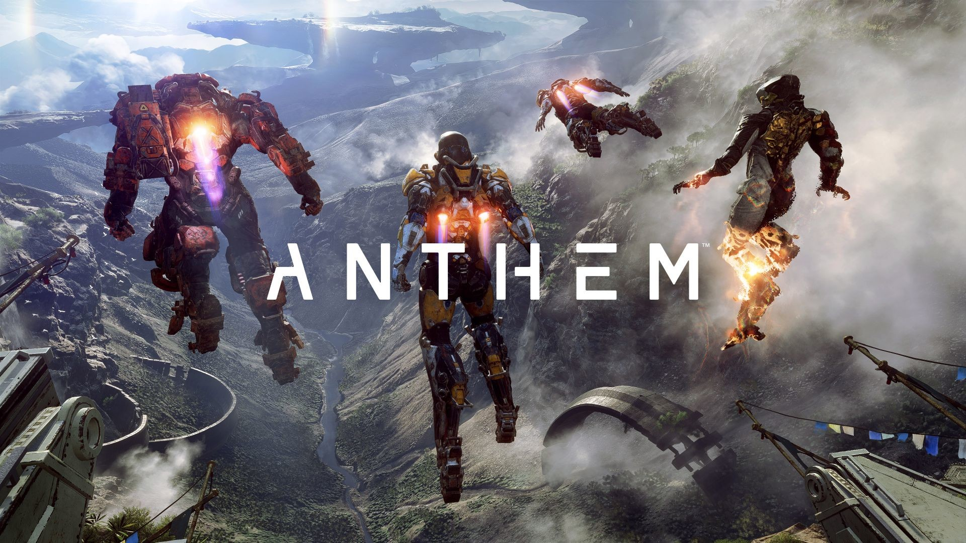 anthem 4k poster e3 2017 cool video game wallpapers