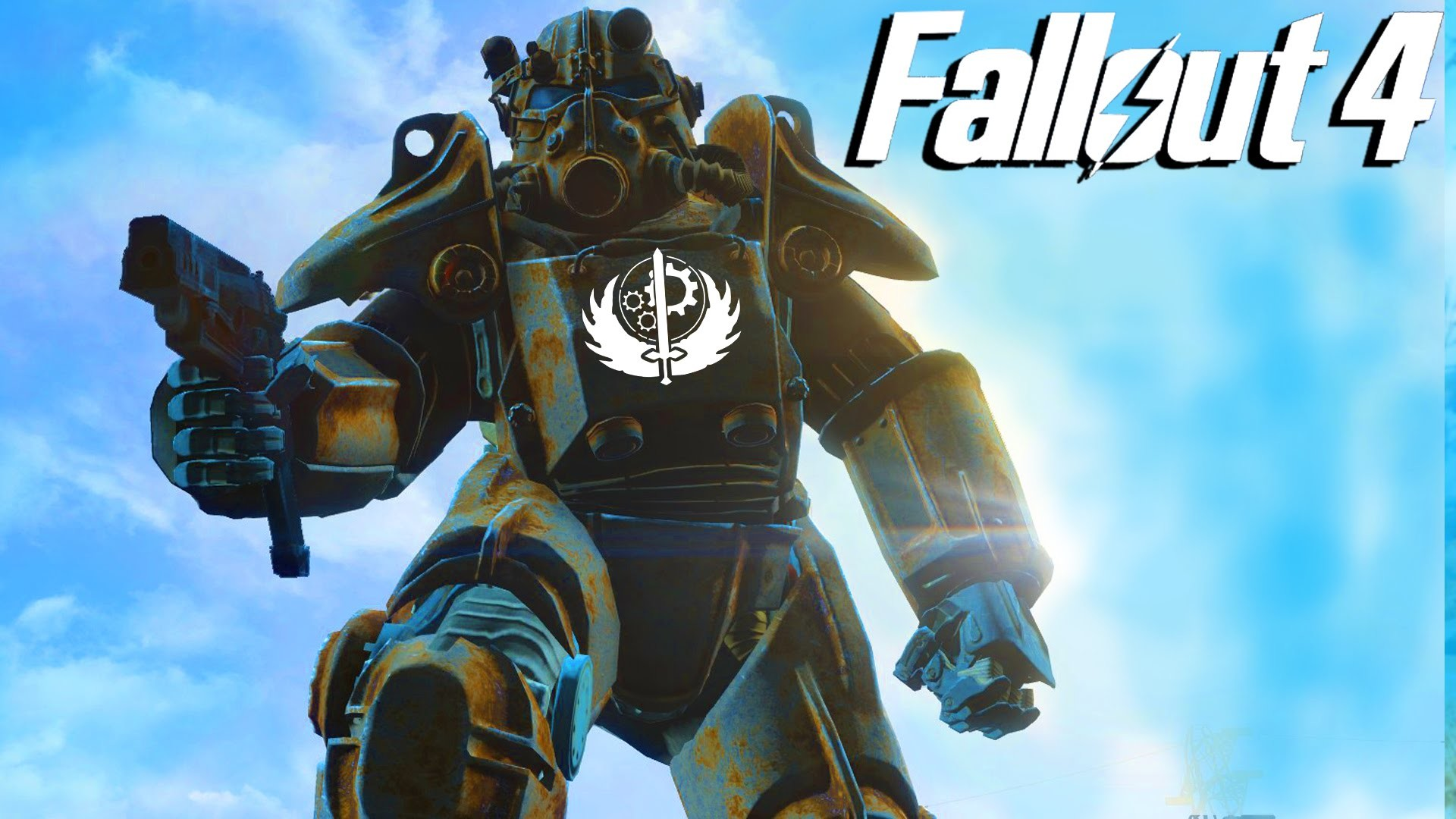 """Fallout 4 Gameplay – BROTHERHOOD OF STEEL """"The New Guy"""" (Fallout 4) –  YouTube"""