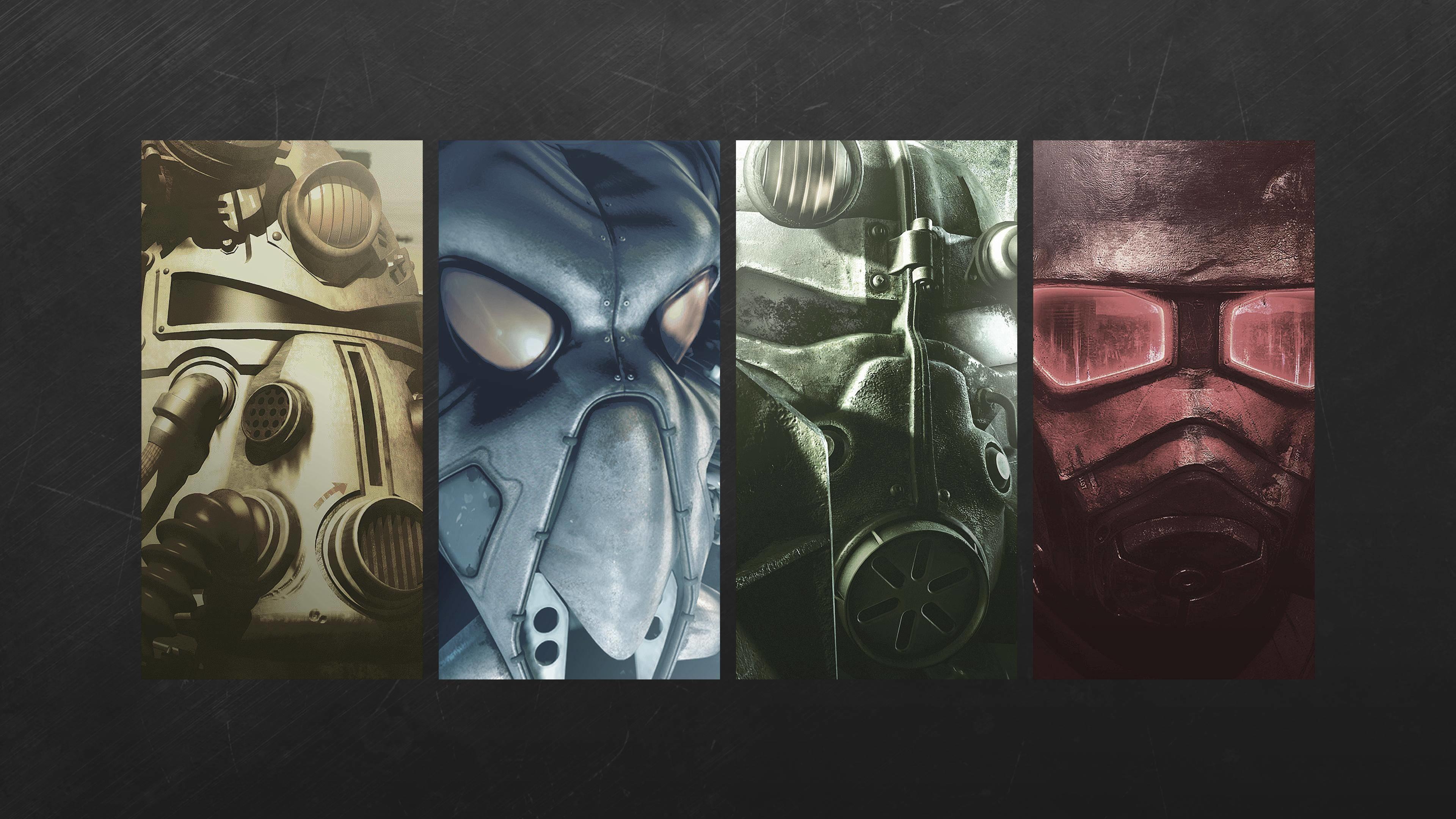 The Fallout Saga. A wallpaper I made.