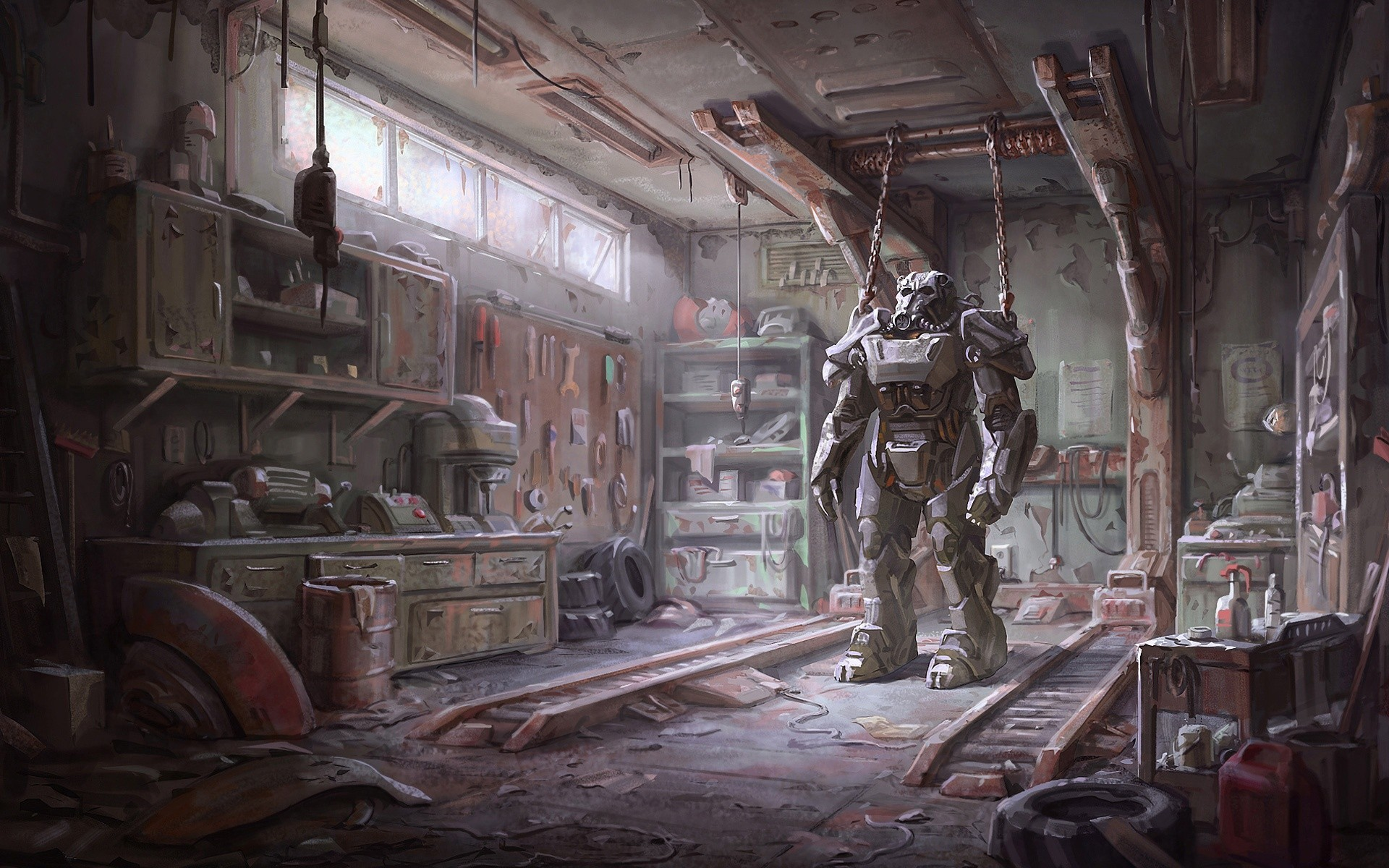 General Fallout 4 concept art Fallout video games Brotherhood of  Steel armor