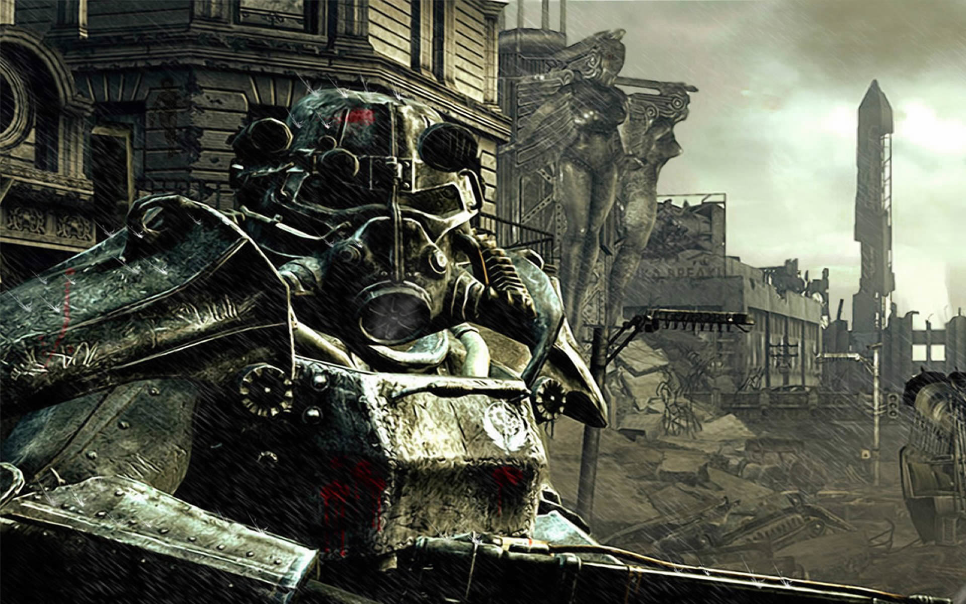 previous fallout 3 wallpaper. Brotherhood Of Steel Soldier