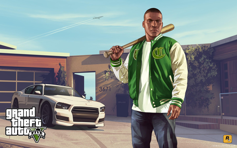 Franklin in Grand Theft Auto V wallpaper 1920×1080