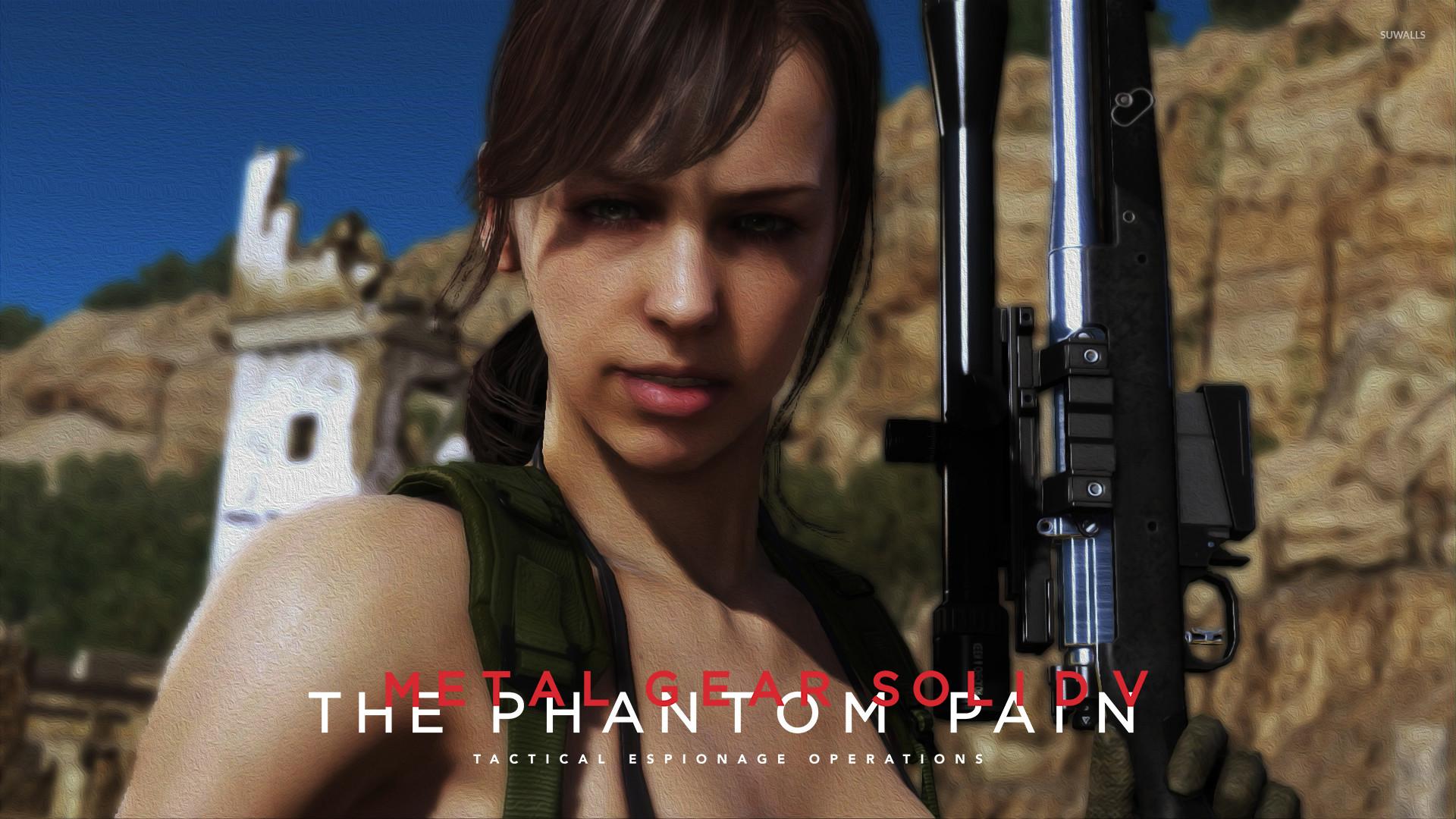 Quiet – Metal Gear Solid V: The Phantom Pain wallpaper – Game .