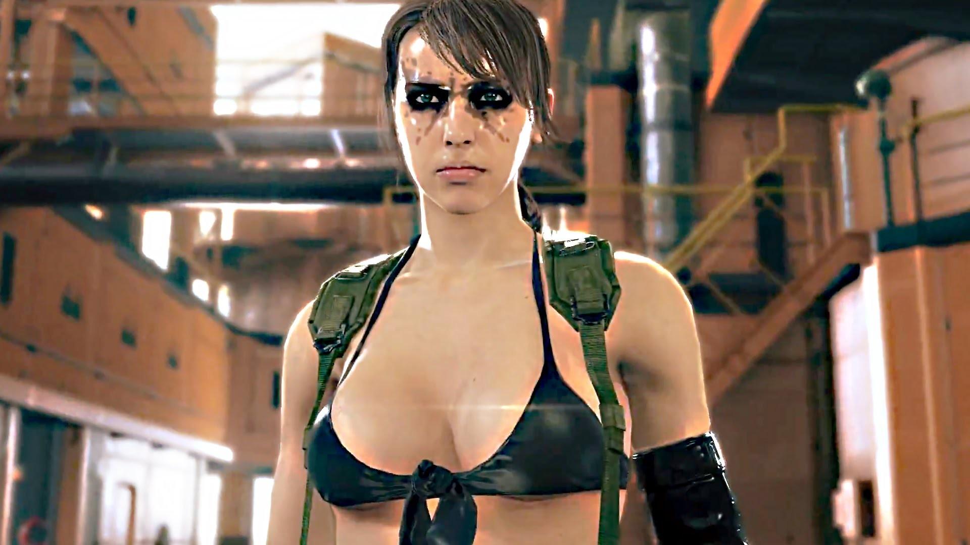 Metal Gear Solid 5 Phantom Pain 60 FPS Quiet Trailer – English – YouTube