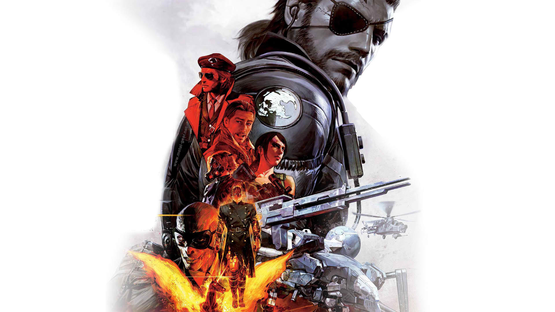 Metal Gear Solid V: The Phantom Pain Wallpaper in 1920×1080