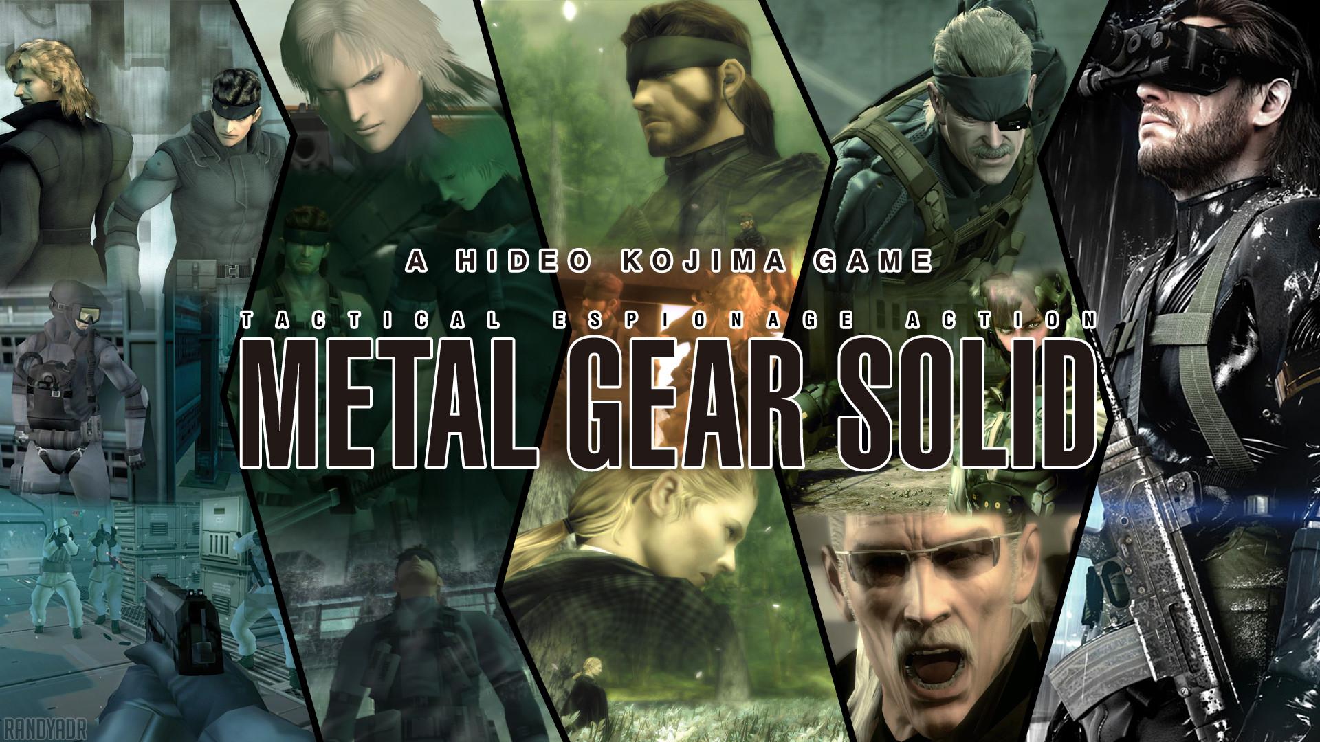 Metal Gear Solid Wallpaper Attempt by randyadr on deviantART