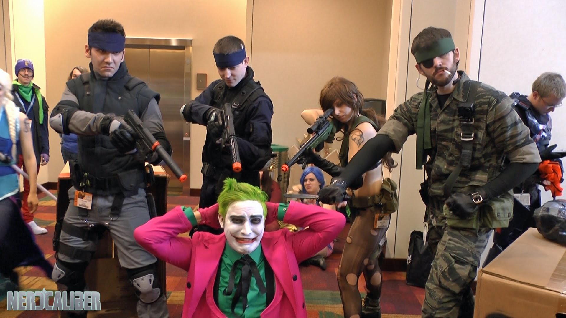 Solid Snakes, Big Boss and Quiet! Metal Gear Solid Cosplay at Gen Con 2014  – YouTube