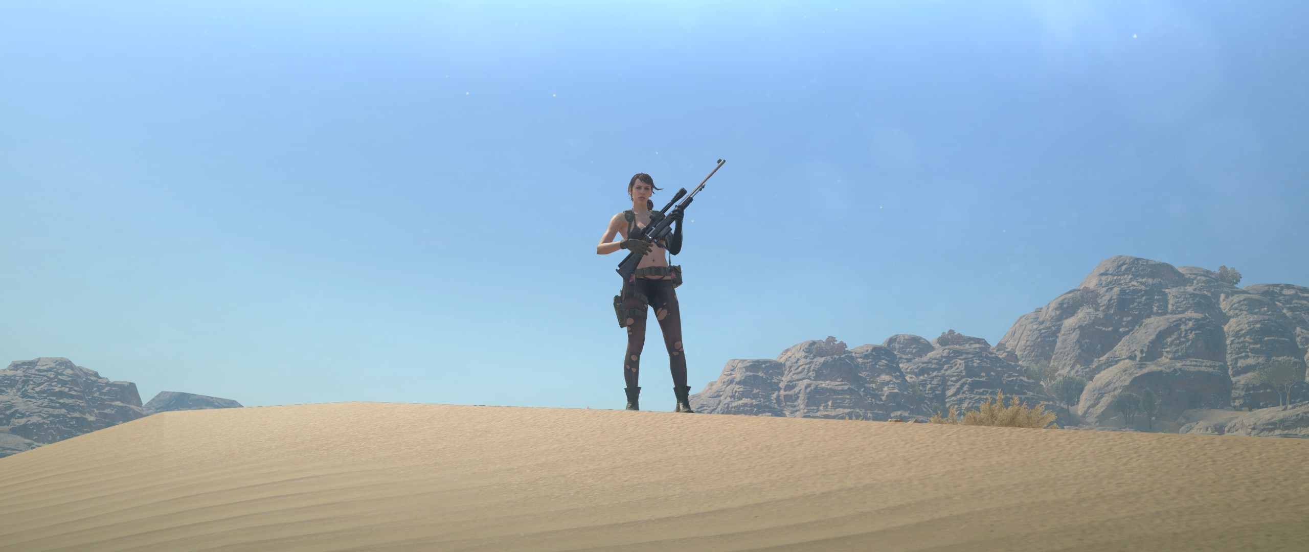MGSV 21:9 Quiet Wallpaper for those interested. #MetalGearSolid #mgs #MGSV