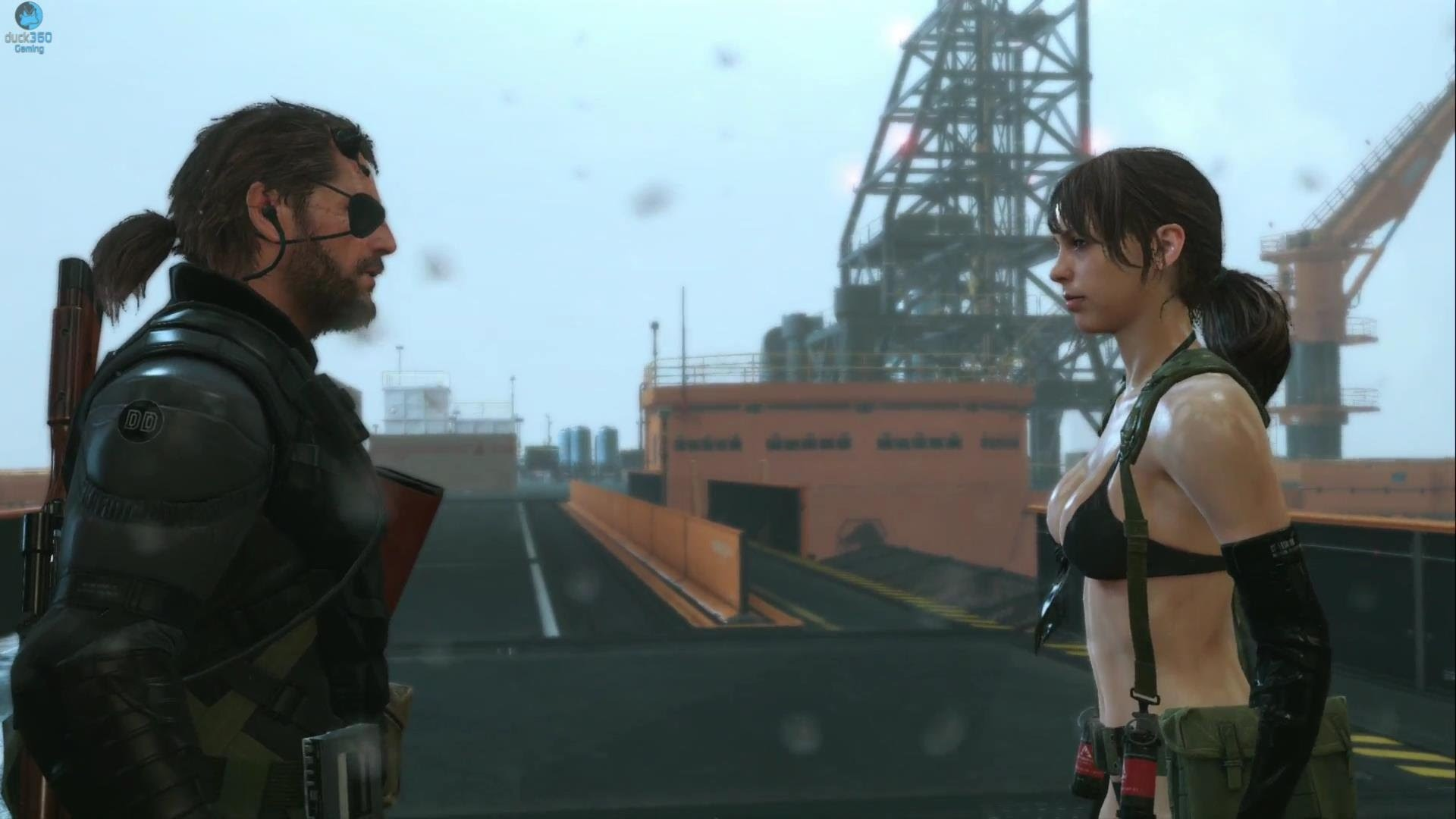 Video Game – Metal Gear Solid V: The Phantom Pain Quiet (MGS) Wallpaper    metal gear   Pinterest   Spel, Tv-spel och Metal gear