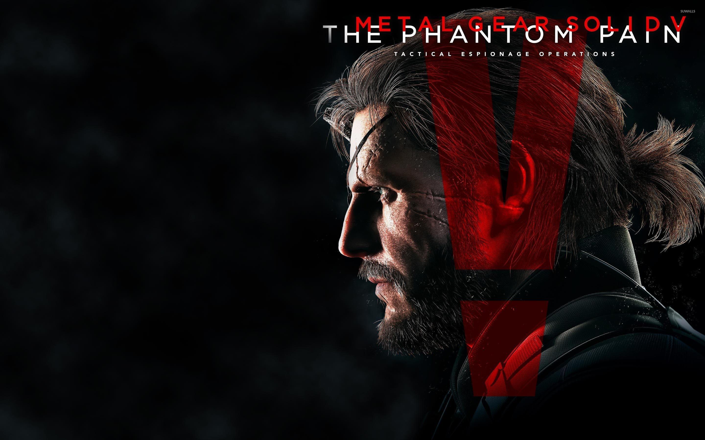 Venom Snake – Metal Gear Solid V: The Phantom Pain wallpaper