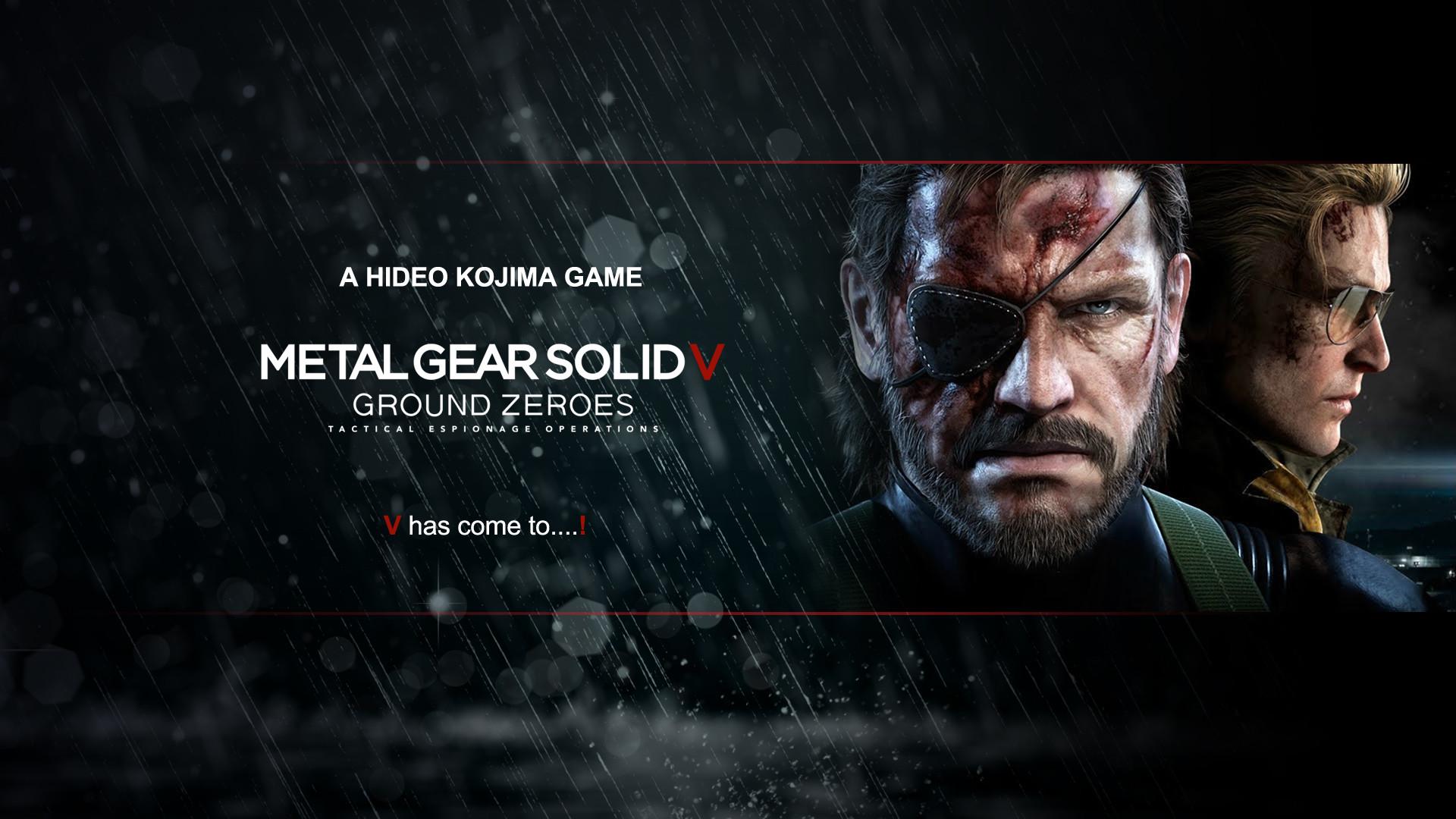 Metal Gear Solid 5 Wallpapers – WallpaperSafari
