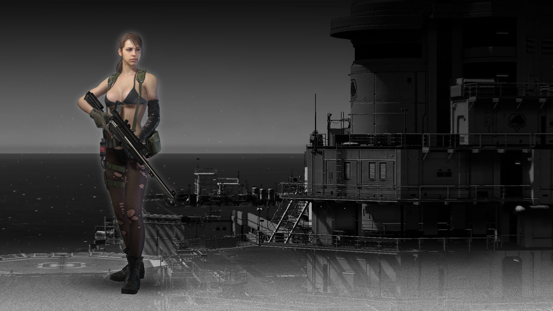 METAL GEAR SOLID V: THE PHANTOM PAIN – Quiet   Steam Trading Cards Wiki    FANDOM powered by Wikia