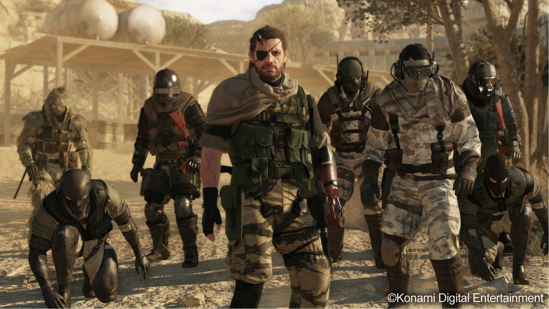 Metal Gear Online: Artwork, screenshots and some information
