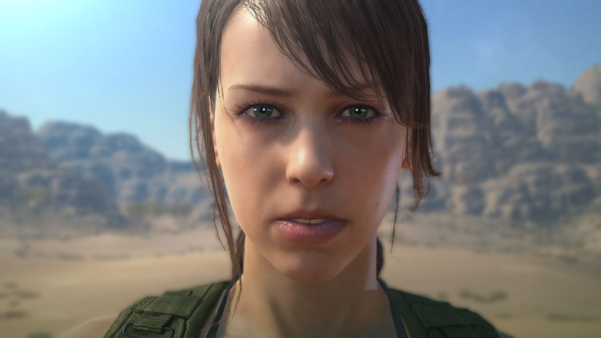 Quiet's lips are amazing. I'm whatever about bewbies and butt, but the lips  are lovely. Props to the modeler (even if he/she was working off of Joosten  as a …