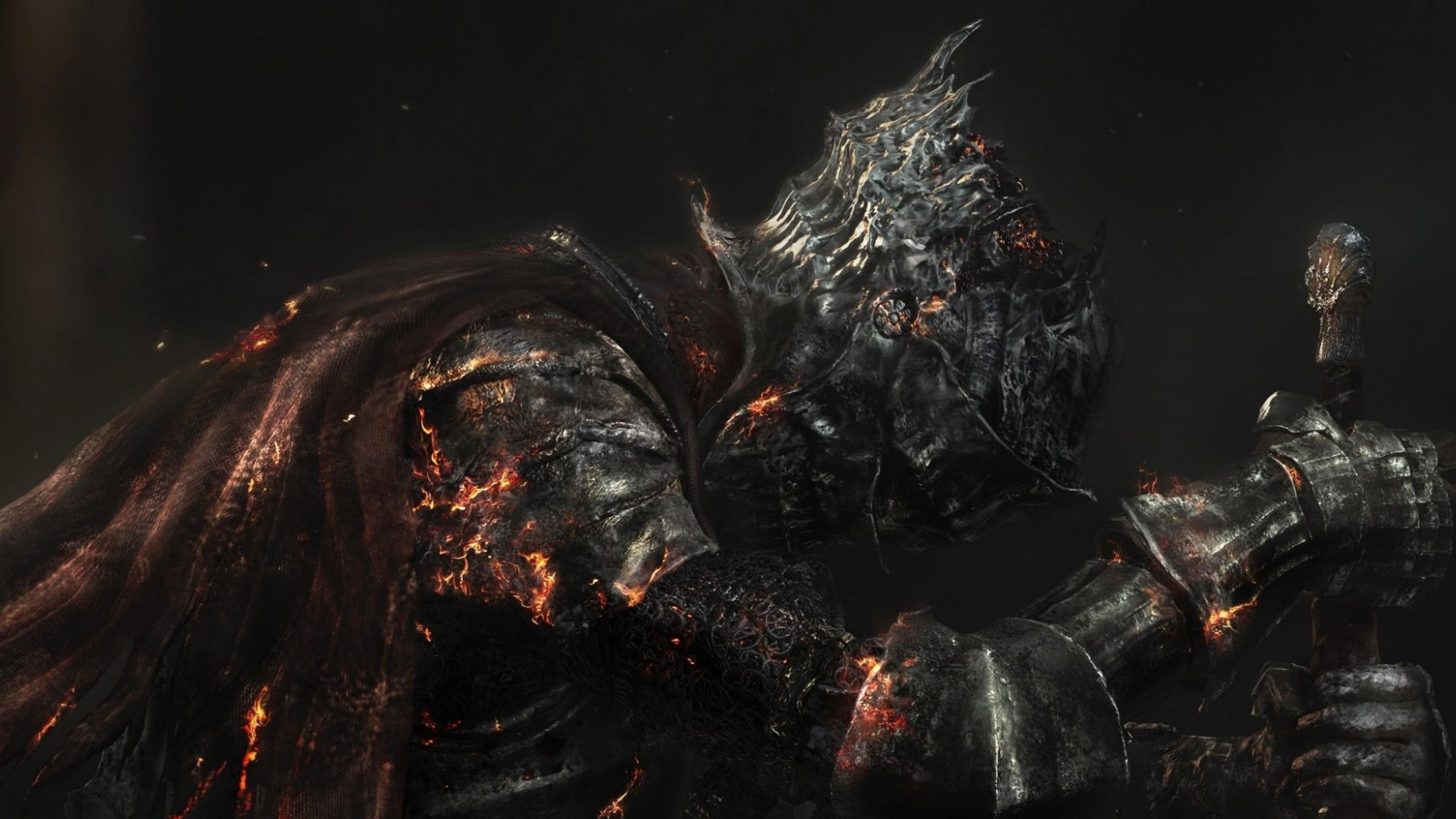 Preview wallpaper dark souls 3, dark souls iii, armor 3840×2160