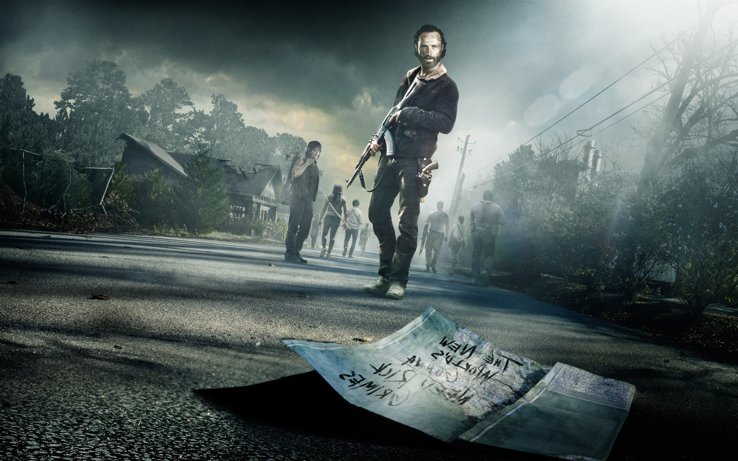 Walking Dead HD Wallpaper For Your Android Phone SPLIFFMOBILE 2880×1800