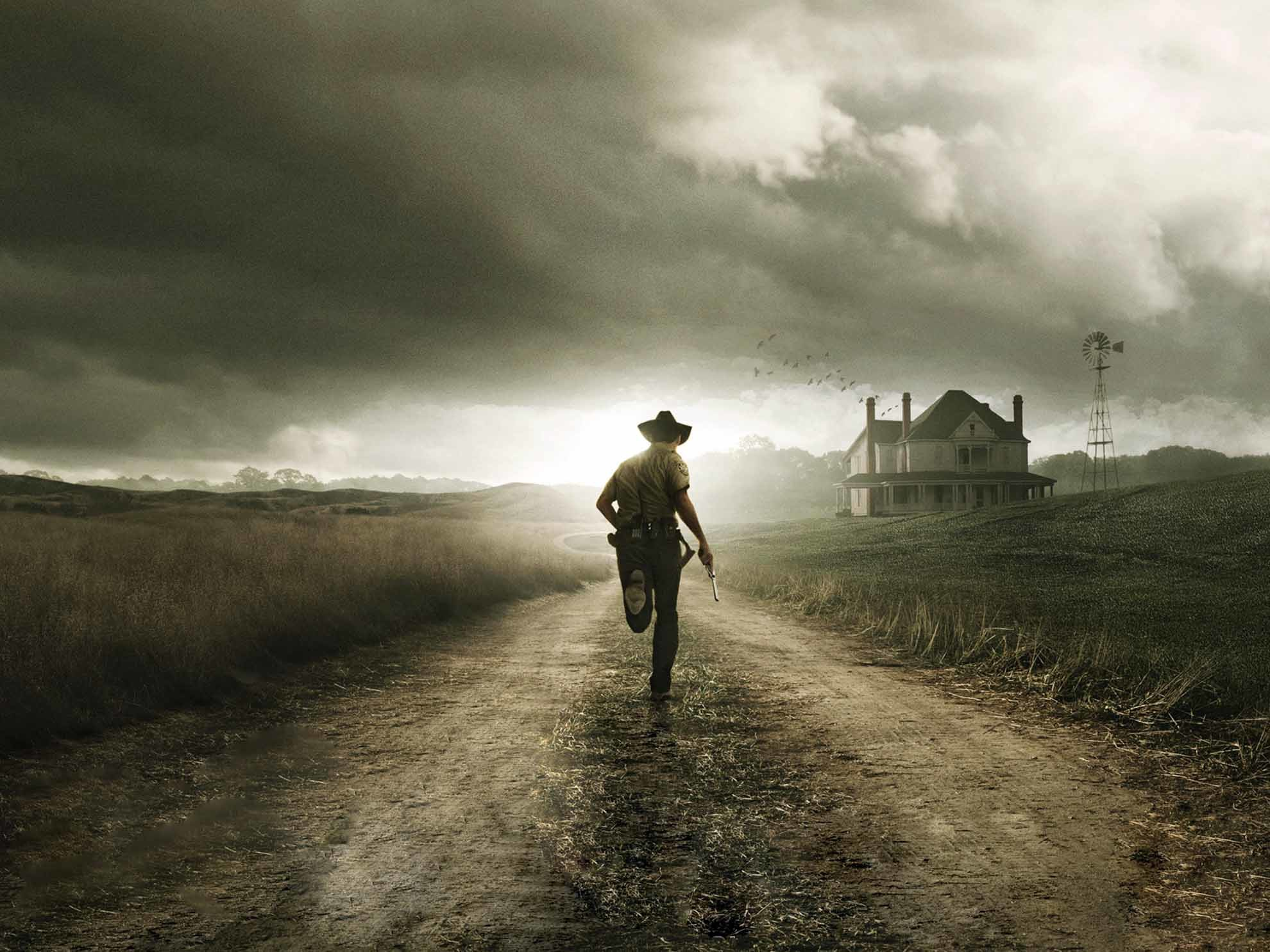 Walking Dead Wallpaper, iPhone Wallpaper, Facebook Cover, Twitter .