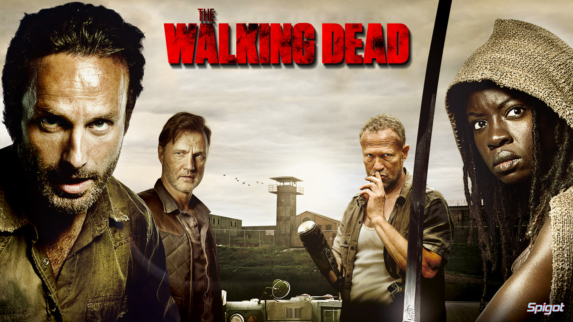 The Walking Dead Wallpaper HD 1080p   ImageBank.biz