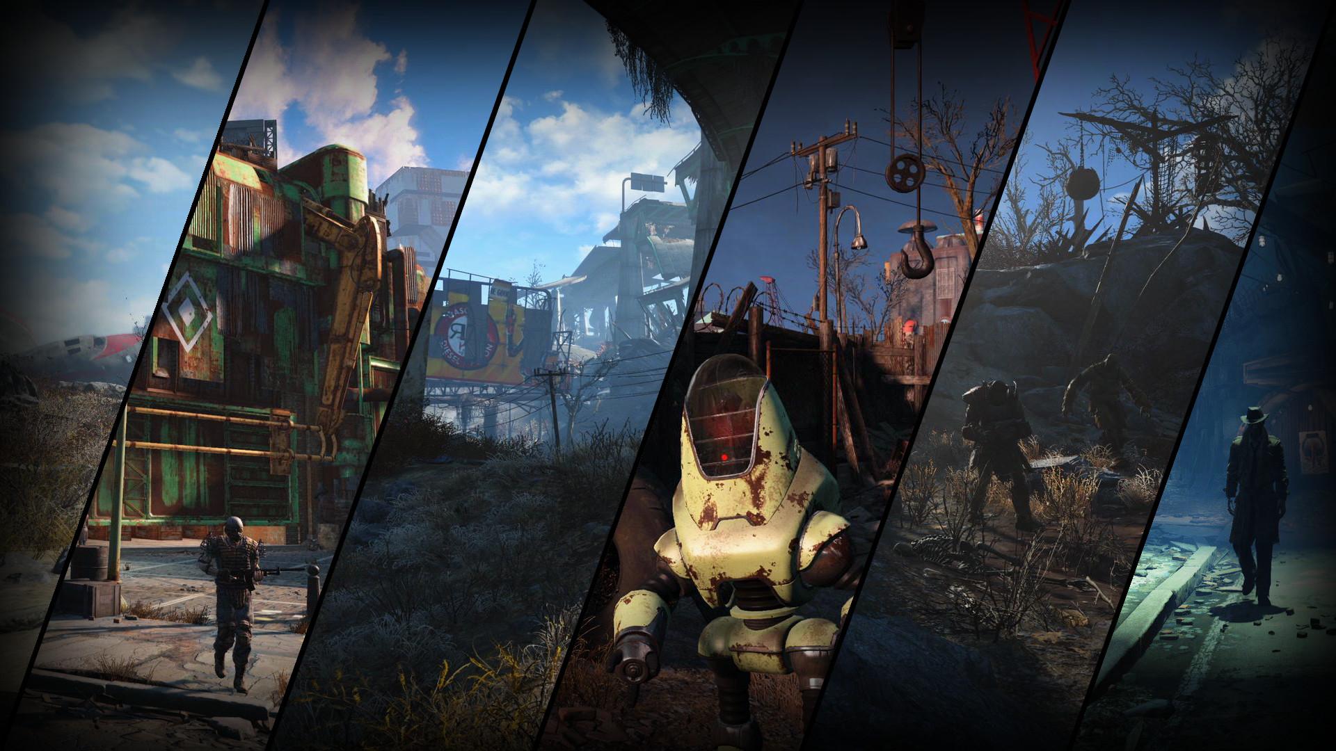 4K Fallout 4 : gaming