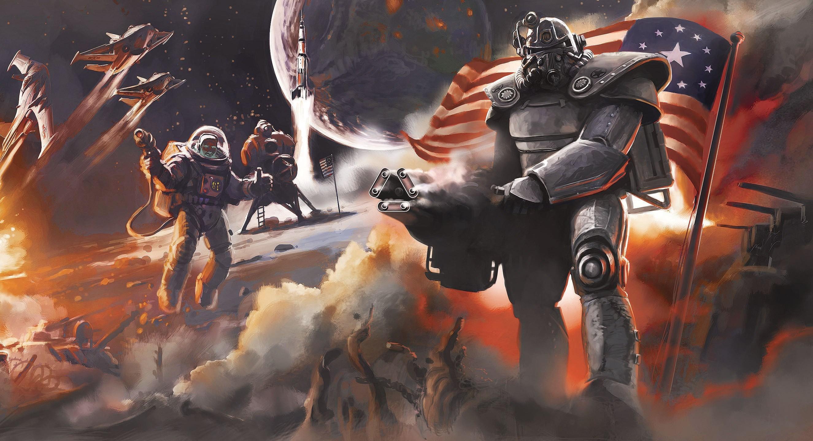 Fallout 4, #concept art, #Fallout, #video games, #Brotherhood