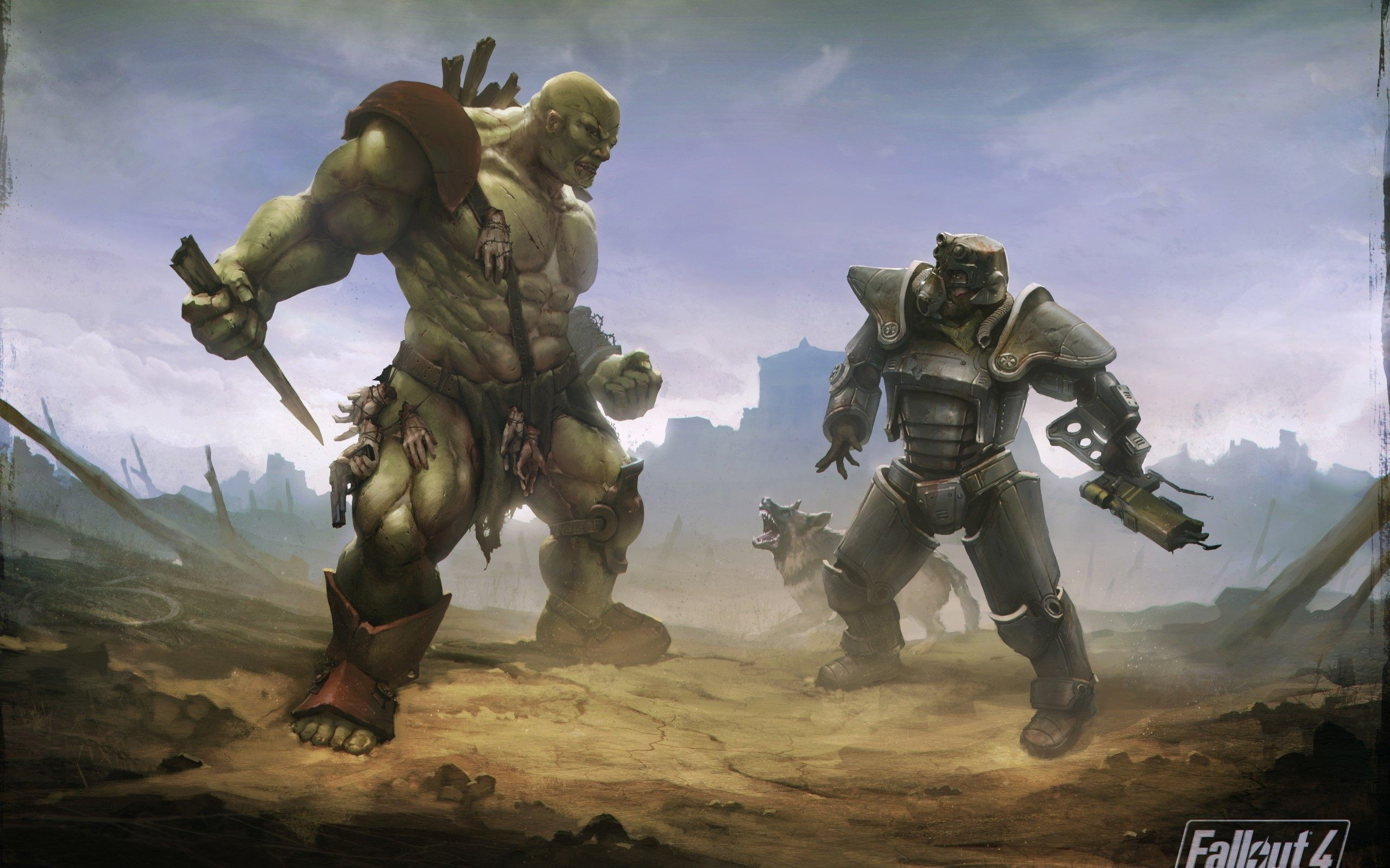 4K <b>Fallout</b> 4 <b>Wallpaper</