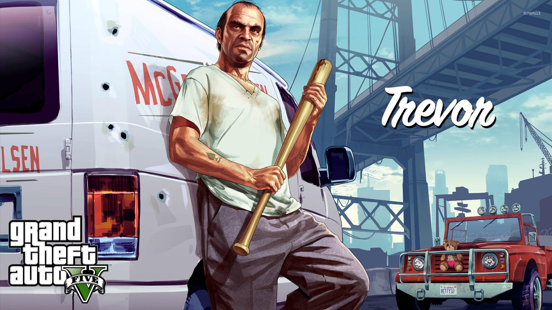Trevor – Grand Theft Auto V wallpaper jpg