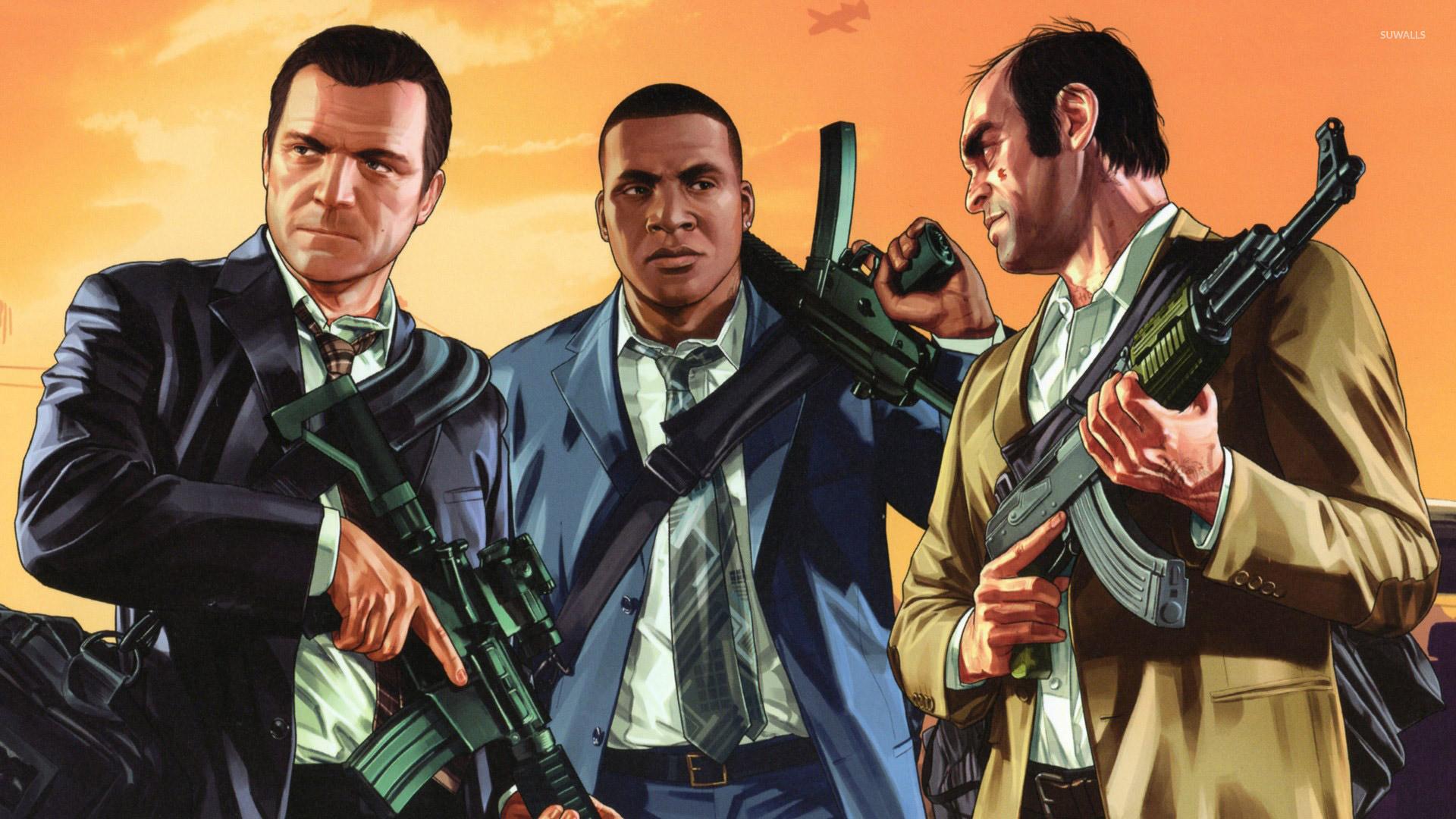 Grand Theft Auto V [10] wallpaper jpg