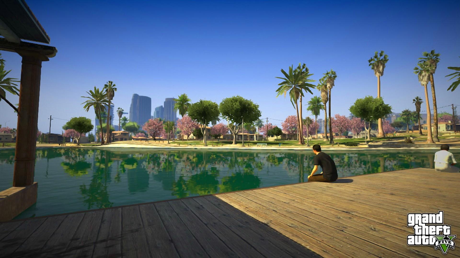 … Grand Theft Auto V Desktop HD Wallpaper #1265