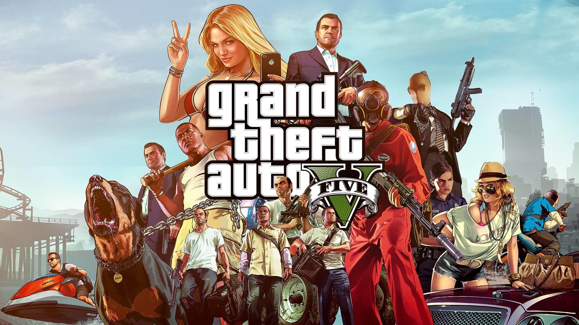 Grand Theft Auto 5 Gta V Wallpaper 40134 in Games – Telusers.com