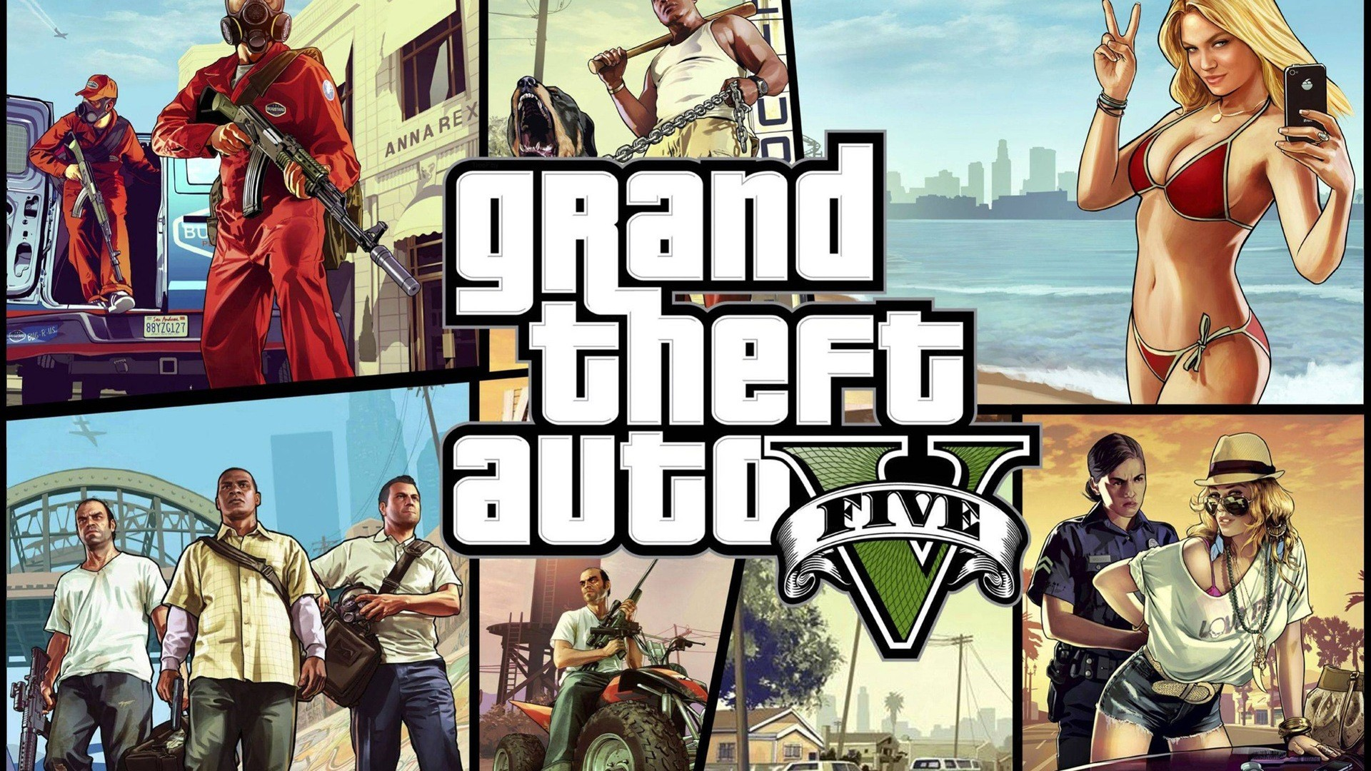 Grand Theft Auto V GTA 5 HD game wallpapers #8 – 1920×1080.