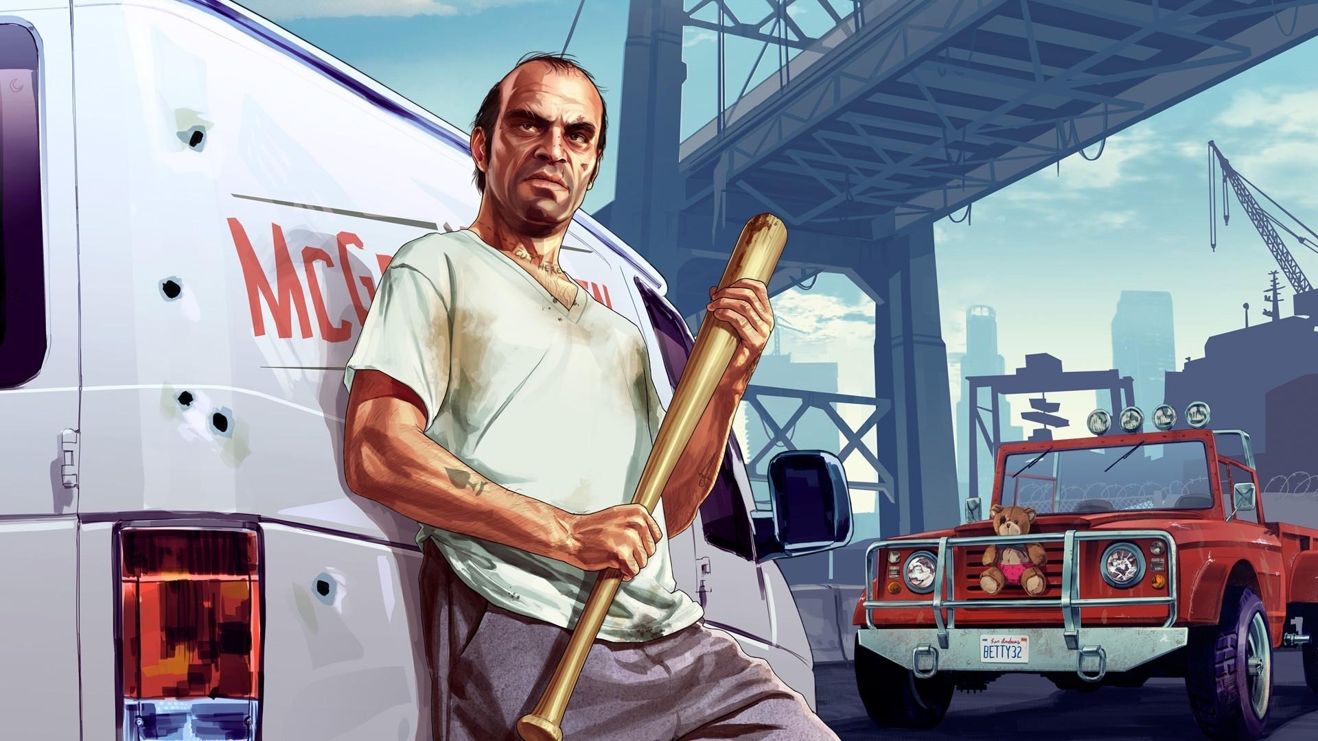 Grand Theft Auto 5 Trevor Wallpaper