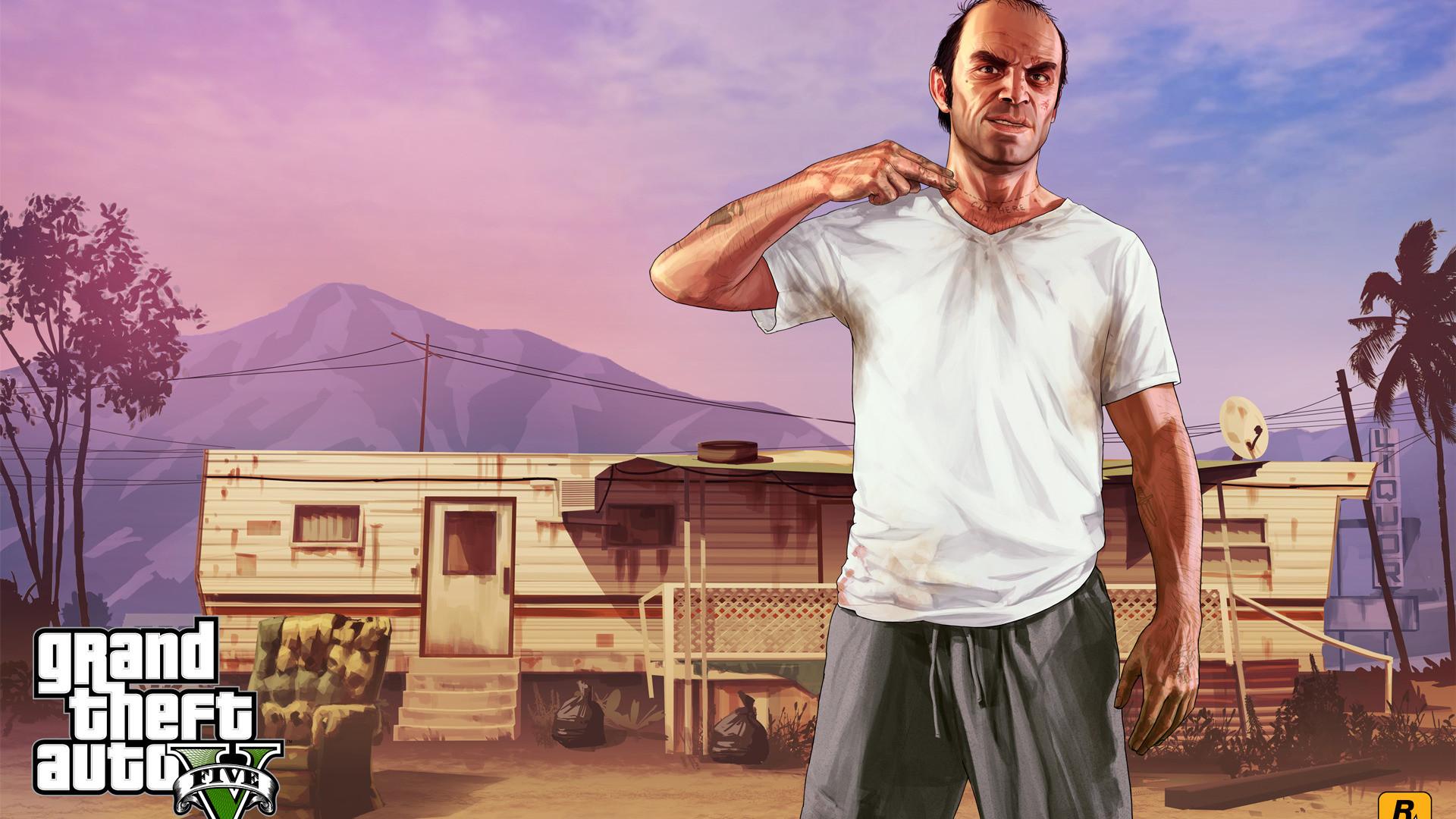 Grand Theft Auto V HD Wallpaper Grand …