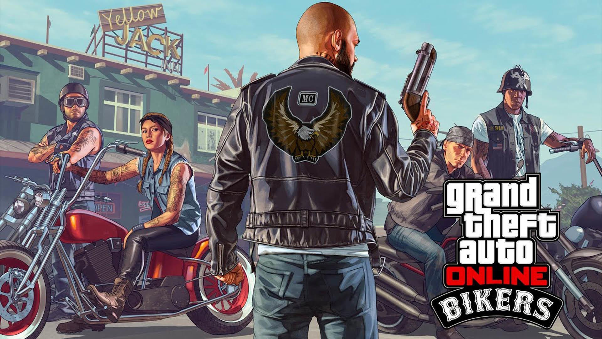 Bikers – GTA 5 Online Update DLC wallpaper