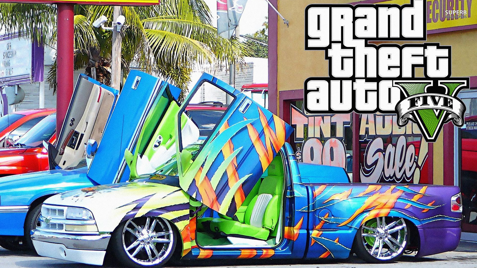 Grand Theft Auto V Wallpapers HD Racing Pick-up