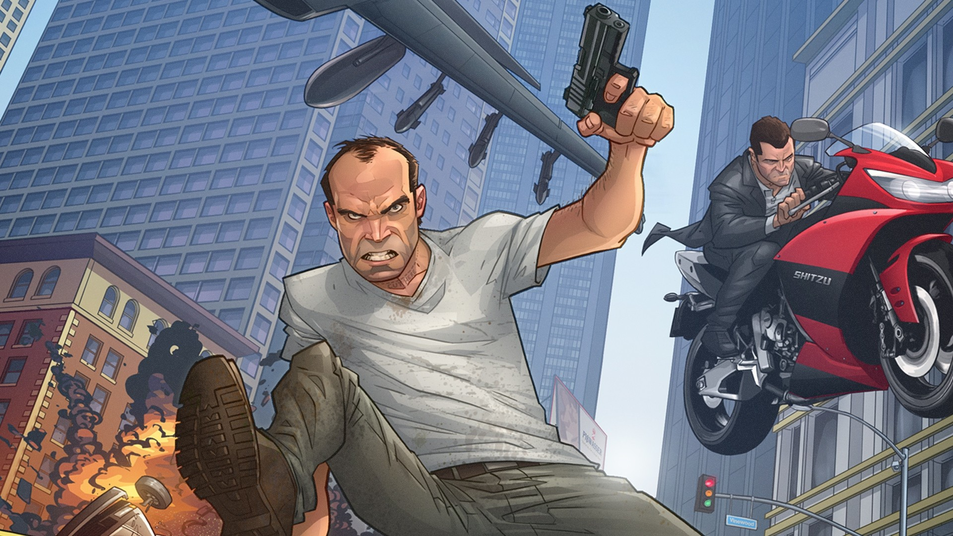Get the latest grand theft auto v, patrick brown, art news, pictures and  videos and learn all about grand theft auto v, patrick brown, …
