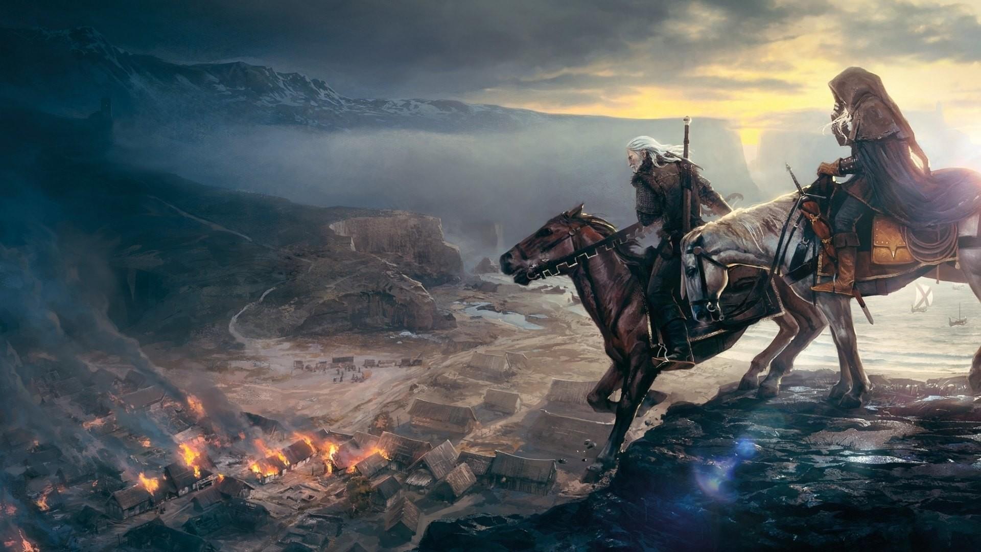Fan Art by The Witcher 3: Wild Hunt Wallpaper · HD Wallpapers