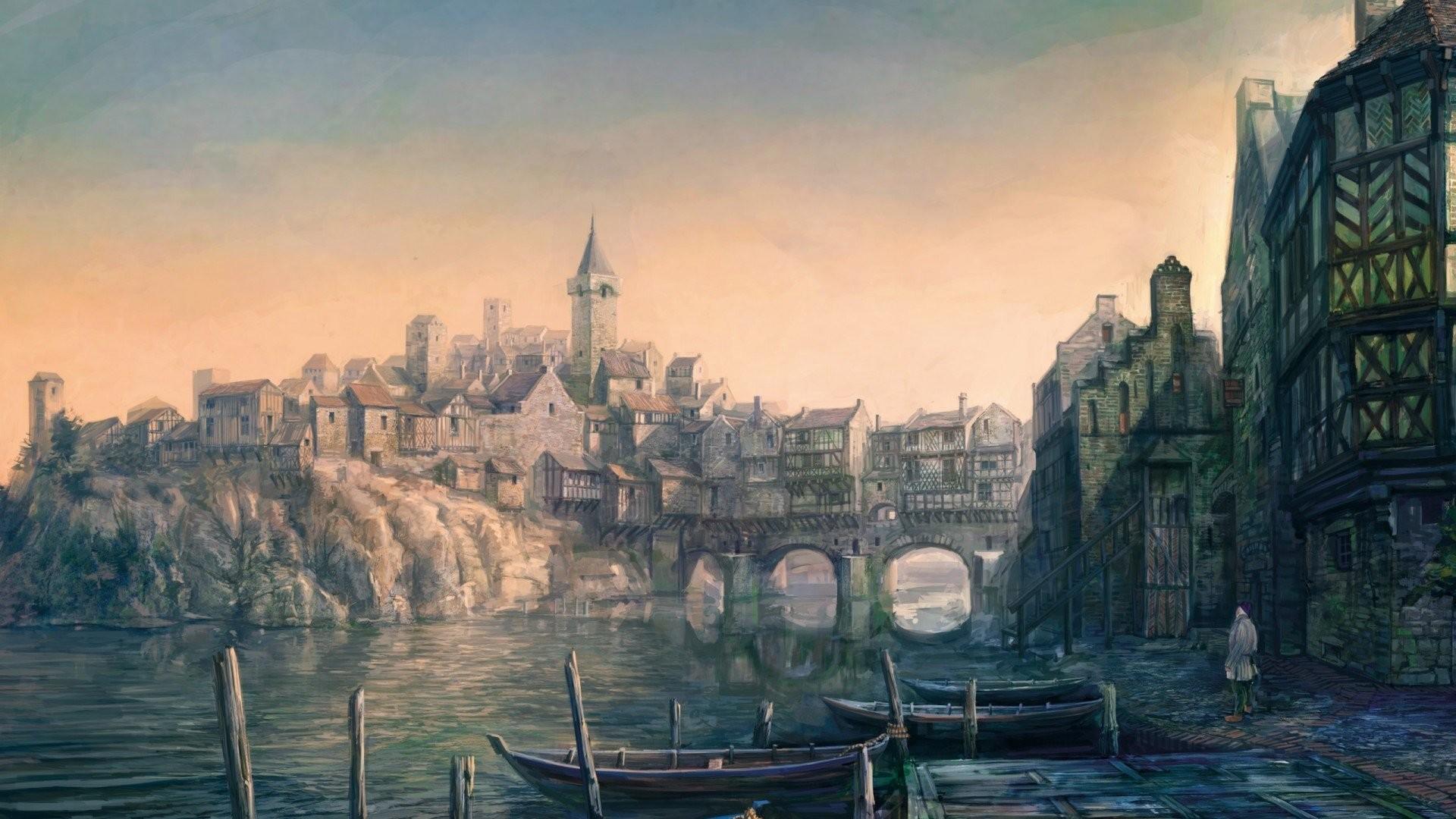 Witcher 3 Artwork …