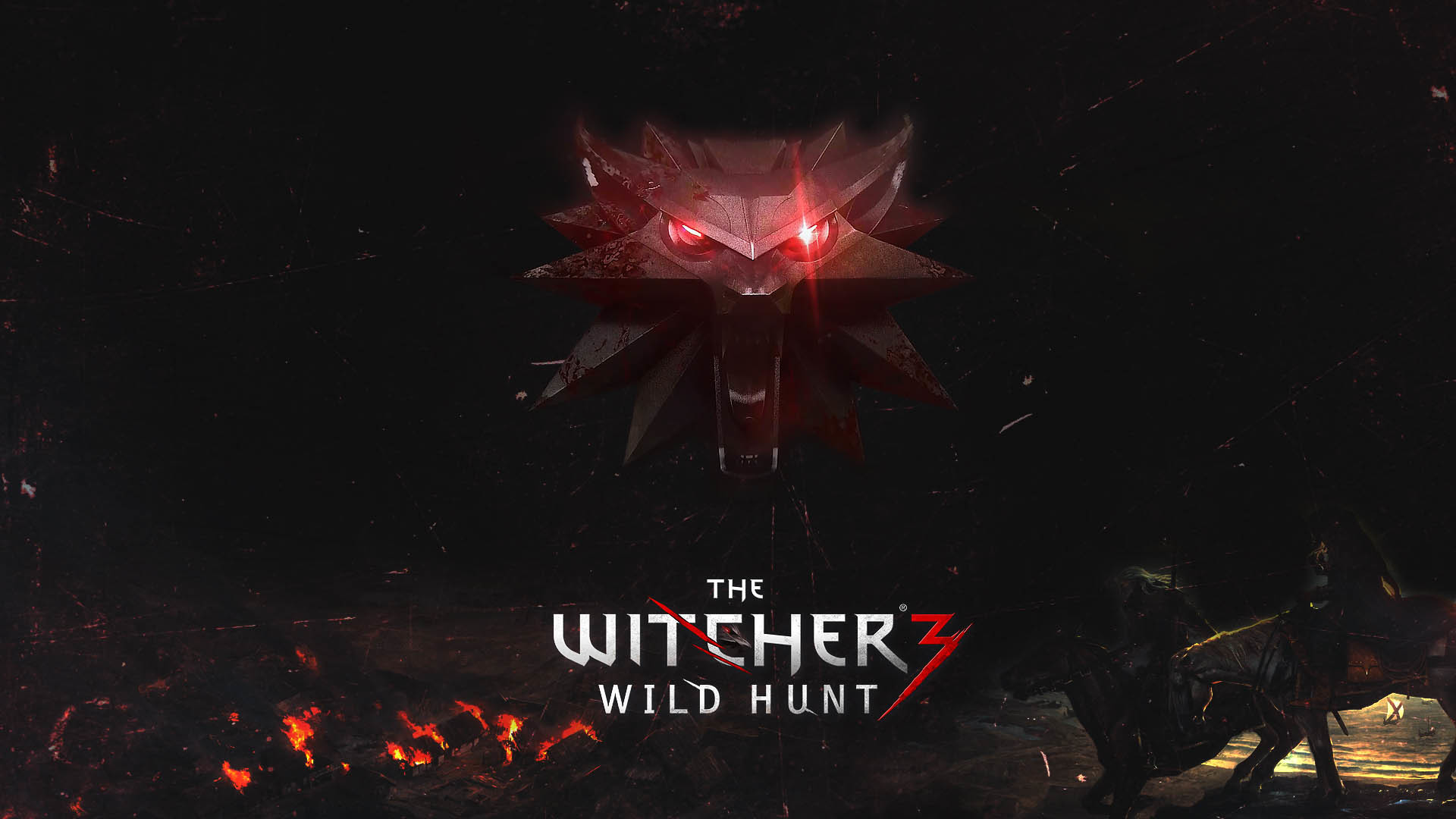 The Witcher 3 Medallion wallpaper