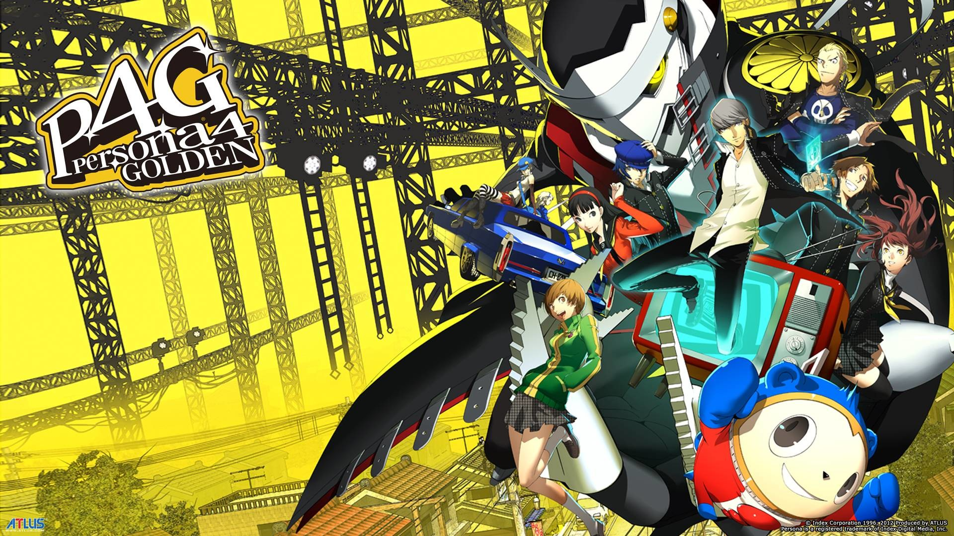 Wallpapers For > Persona 4 Golden Wallpaper Hd