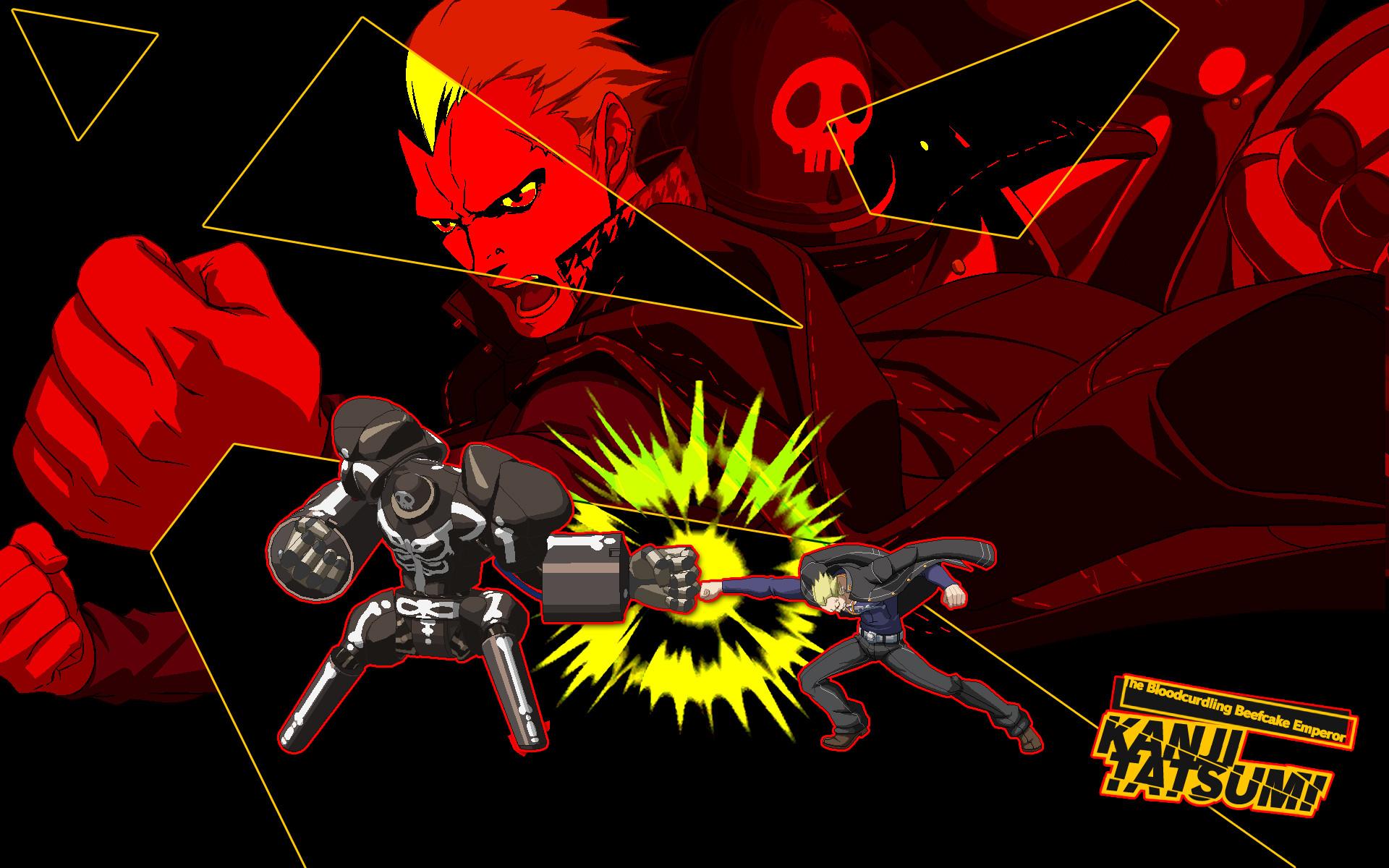 … Kanji – Persona 4 Arena HD Wallpaper for PC / PS3 by seraharcana